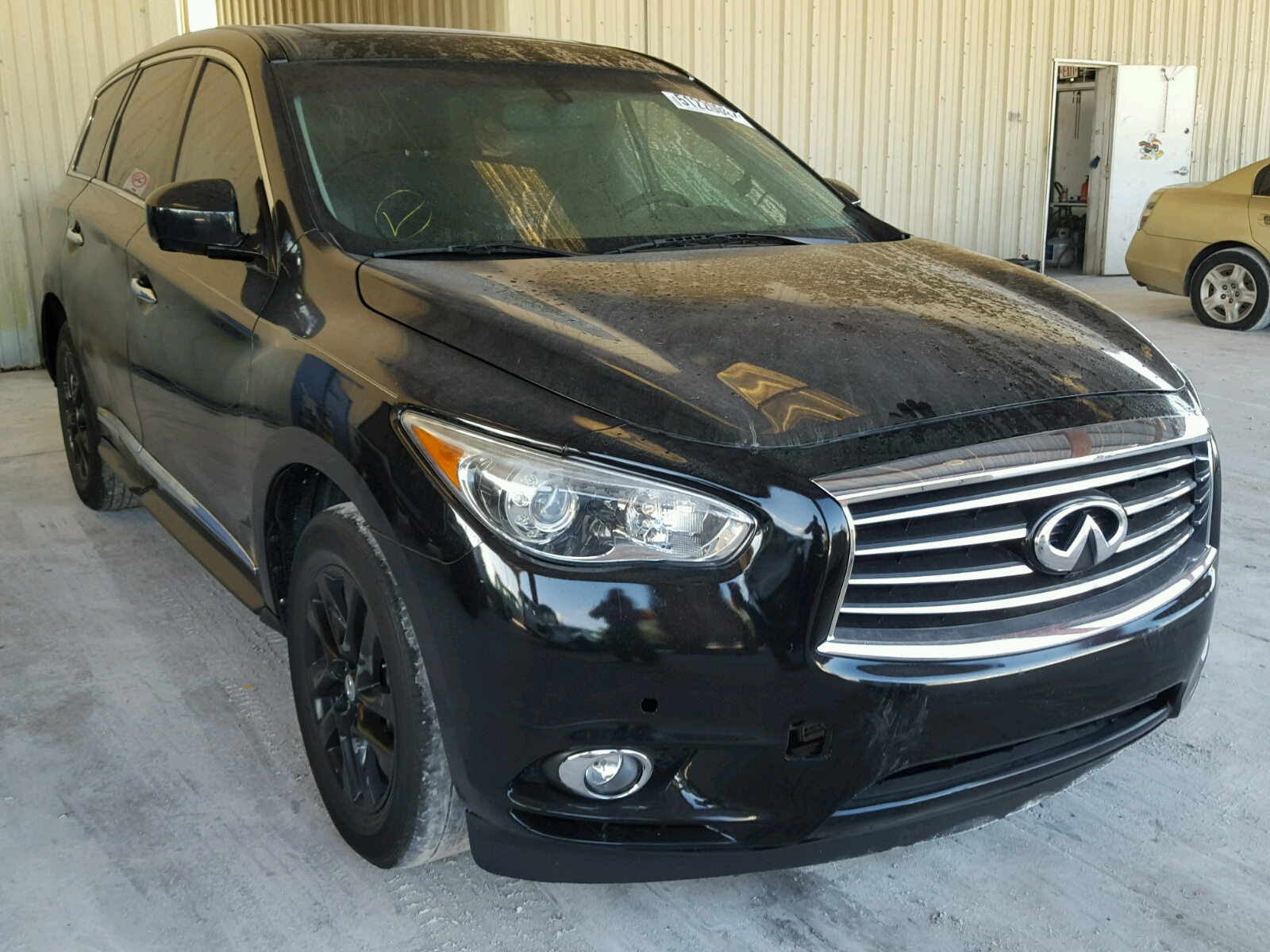 app damage sold side base infiniti infinity