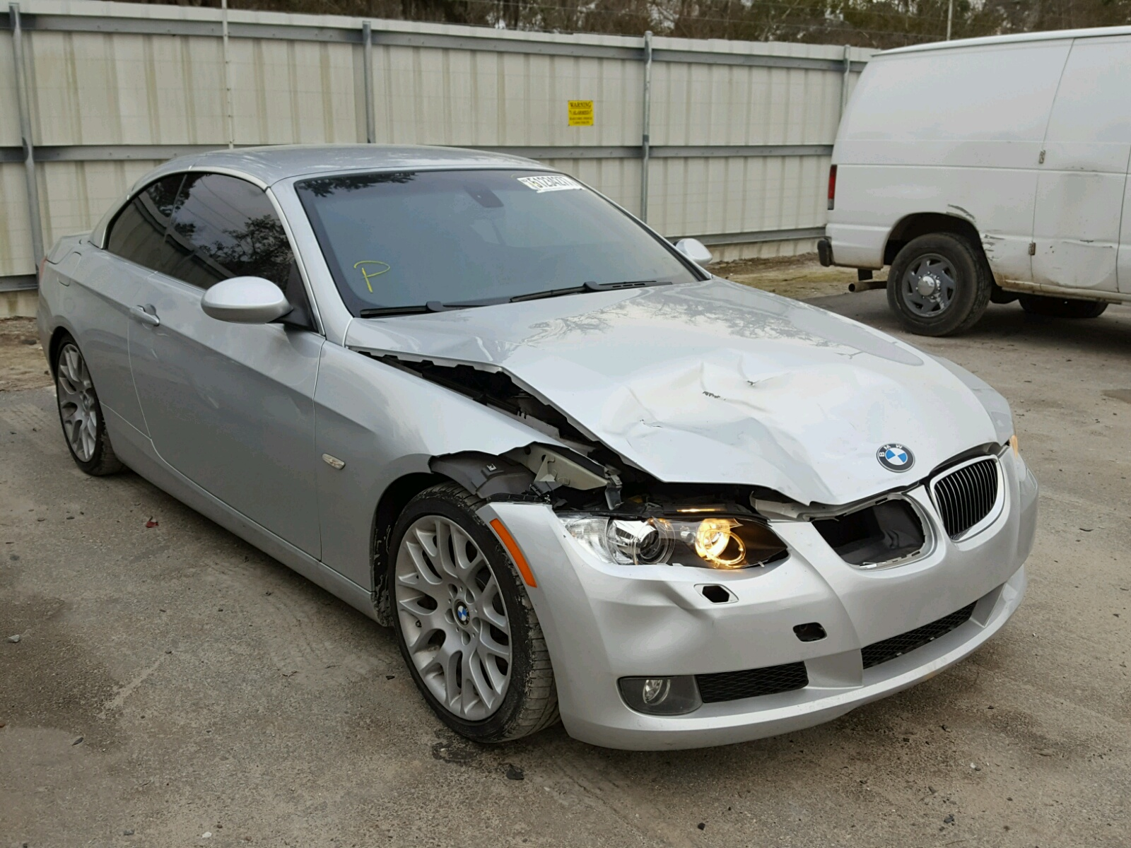 Auto Auction Ended On Vin Wbawb33587pv70369 2007 Bmw 328