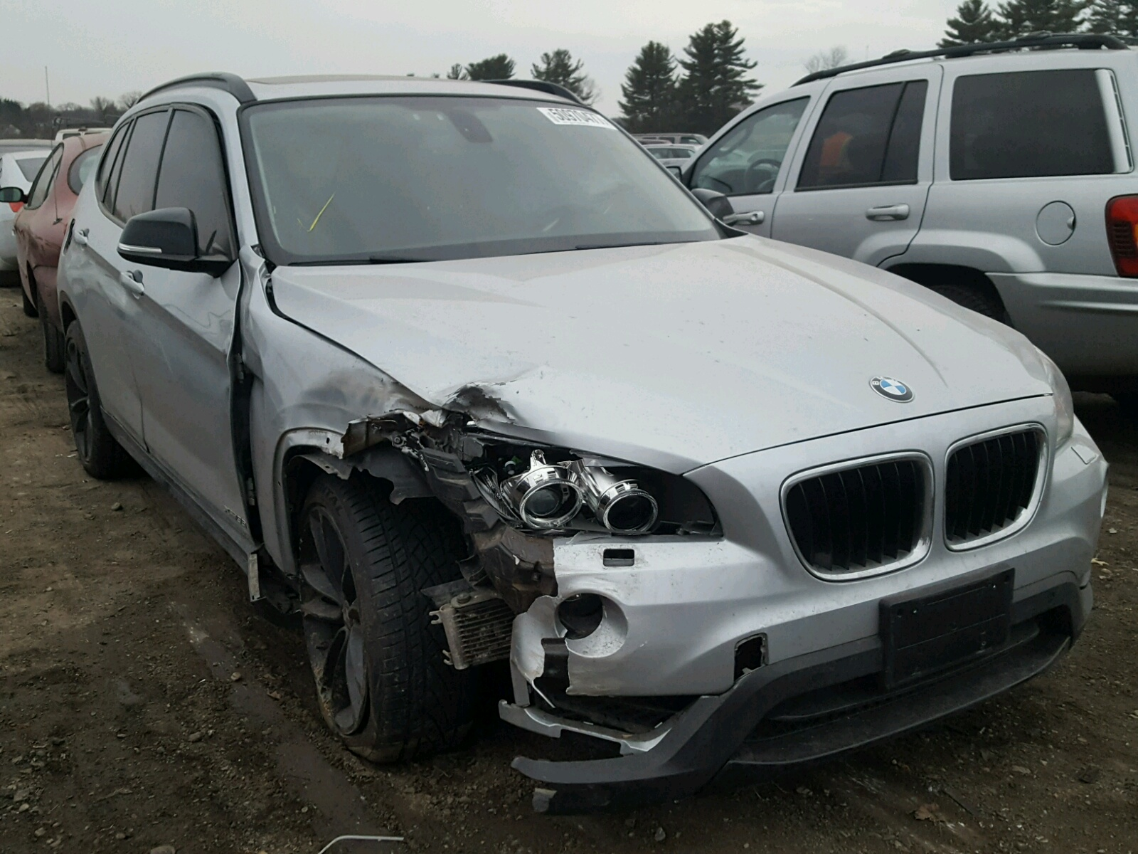 Auto Auction Ended on VIN WBAVM5C56EVV 2014 BMW X1 XDRIVE3 in