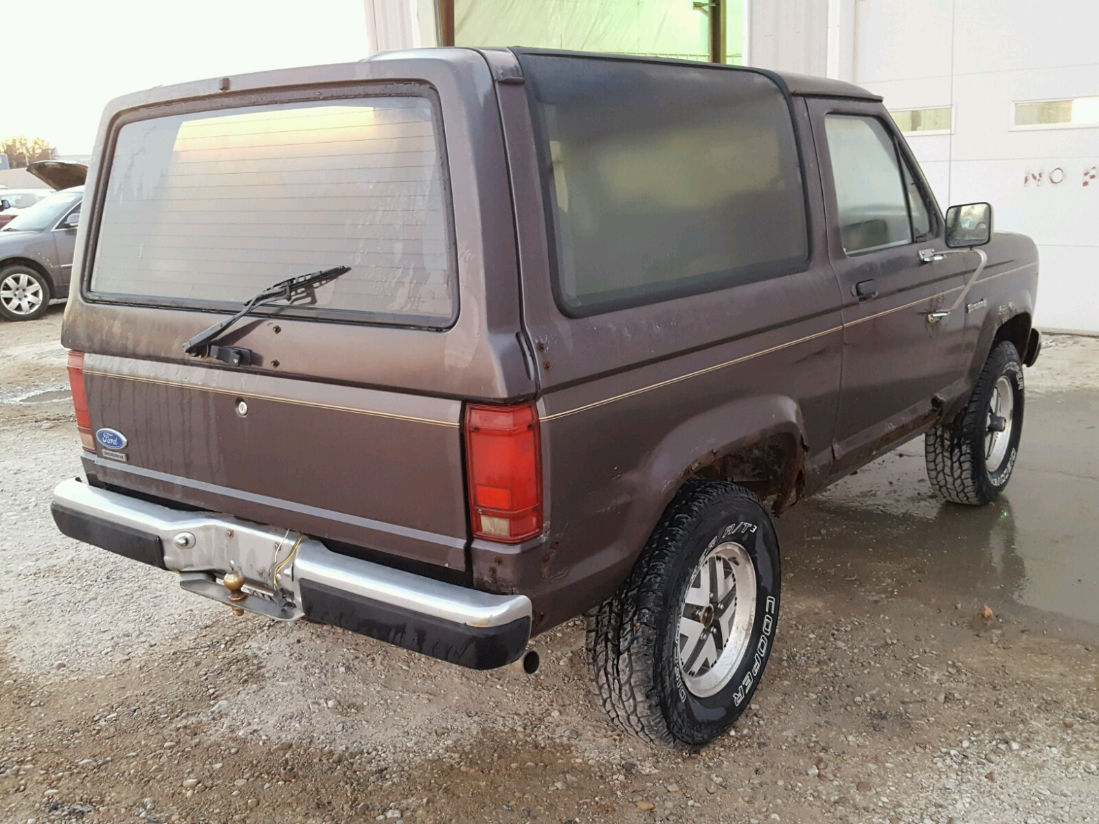 1FMCU14T1HUB50369 | 1987 BROWN FORD BRONCO II on Sale in NE ...