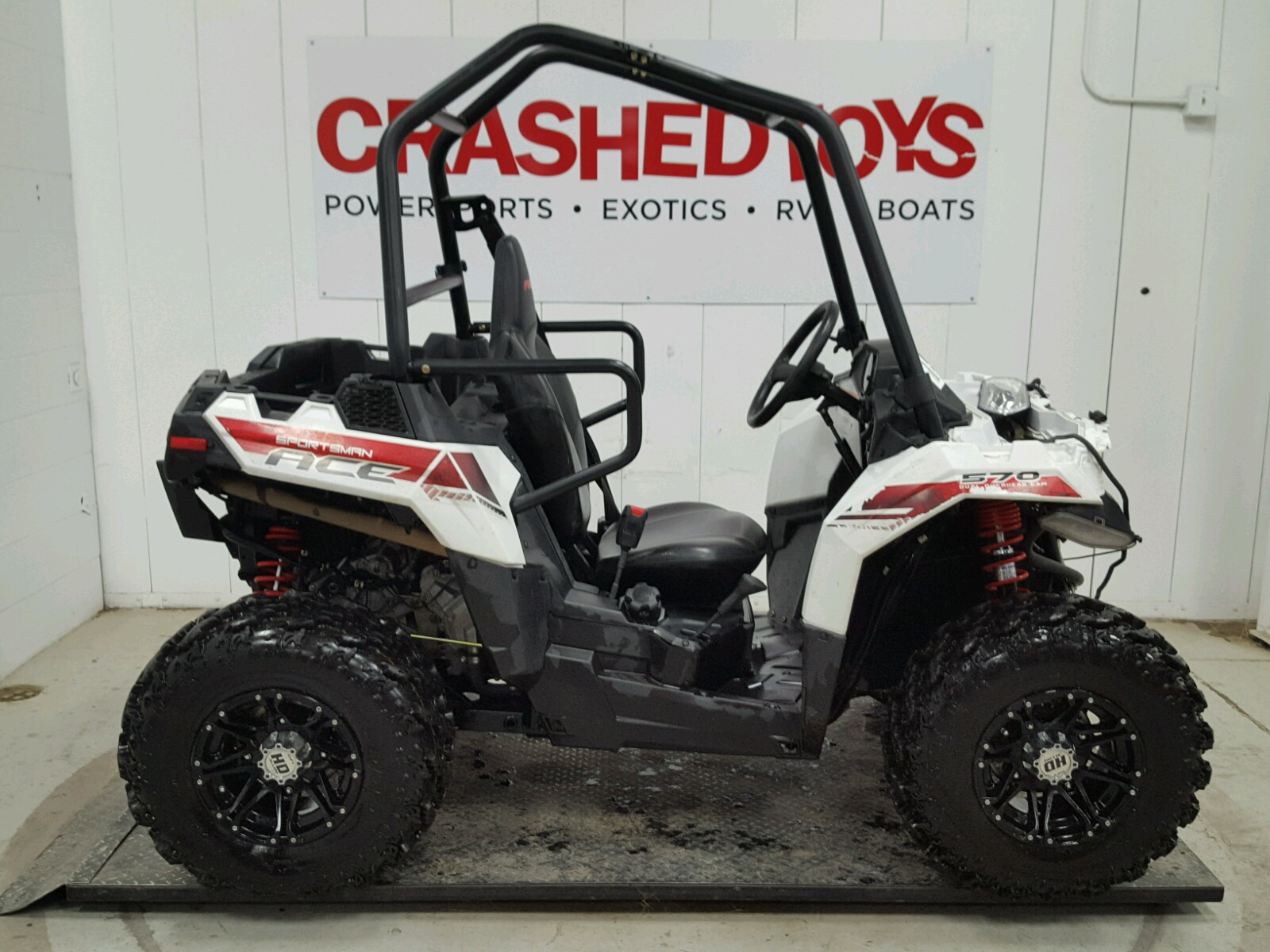 auto auction ended on vin 4xadaa571f7141435 2015 polaris ace 570 in mn crashedtoys east bethel. Black Bedroom Furniture Sets. Home Design Ideas