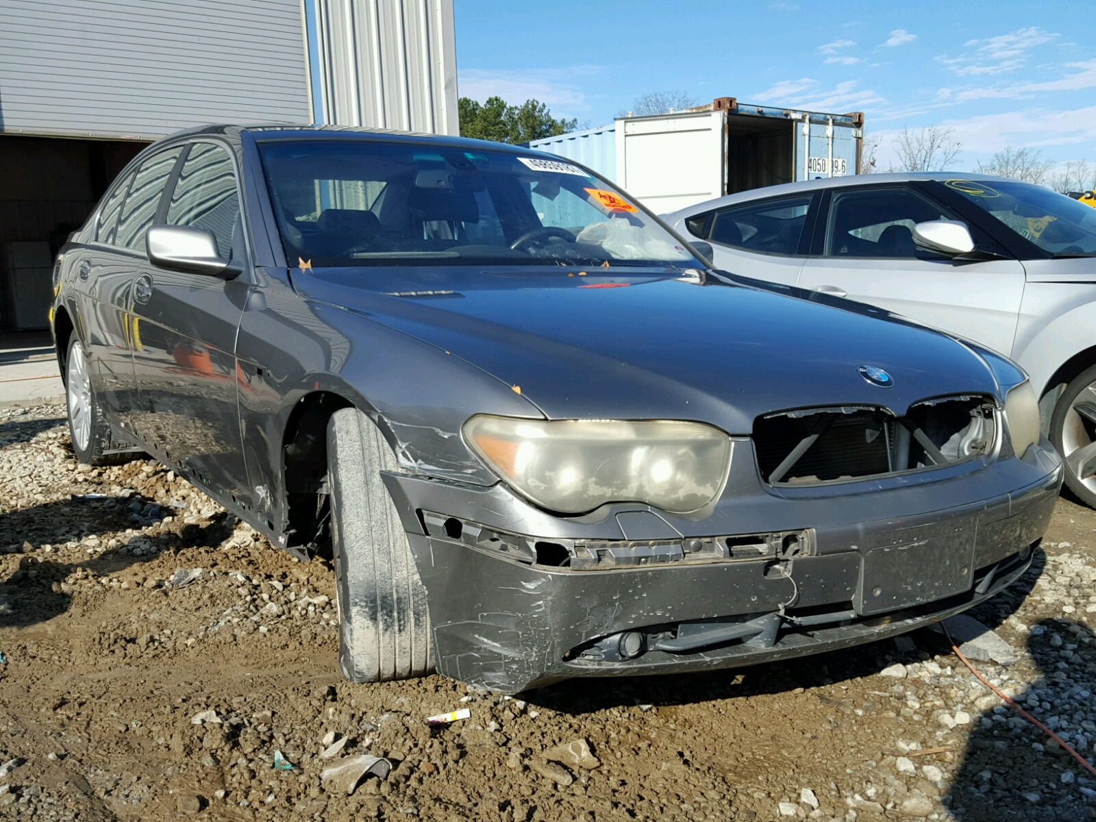 Auto Auction Ended On VIN WBANUC BMW I In GA - 2009 bmw 745