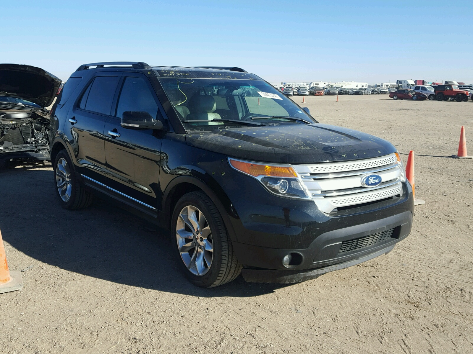 2011 Ford Explorer X for sale at Copart Amarillo TX Lot