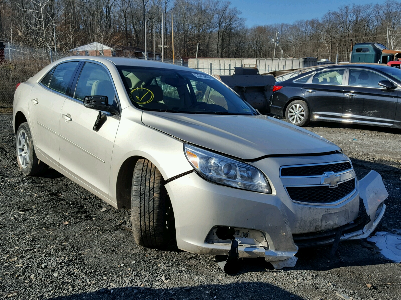 Auto Auction Ended on VIN 1G11C5SA3DF 2013 CHEVROLET MALIBU