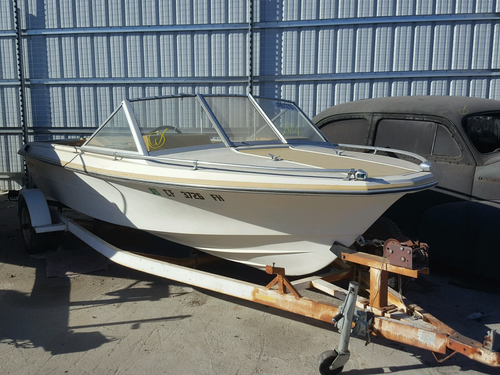 Salvage 1973 Glsb BOAT for sale