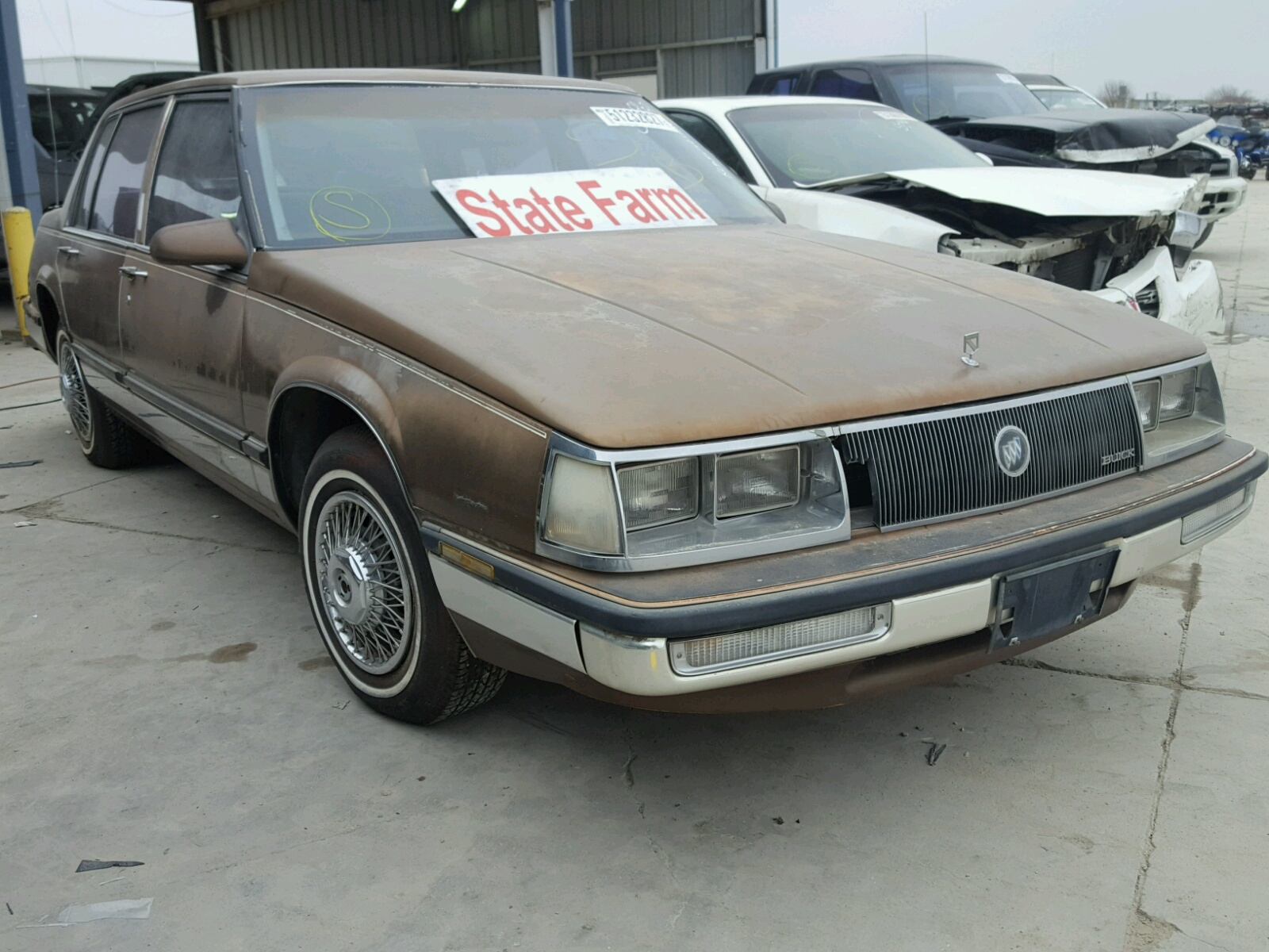 A C D Be Ef B Fc A Ce A on 1985 Buick Lesabre Texas