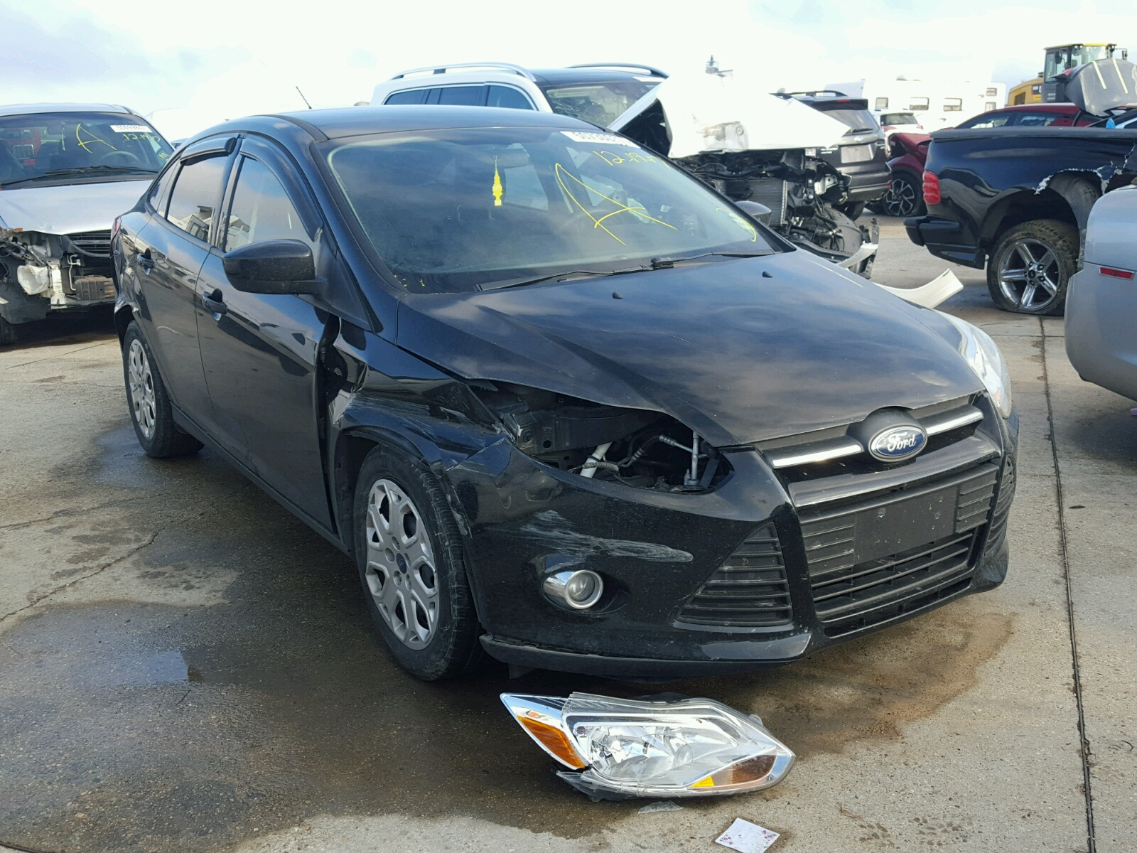 2012 Ford Focus SE for sale at Copart New Orleans LA Lot