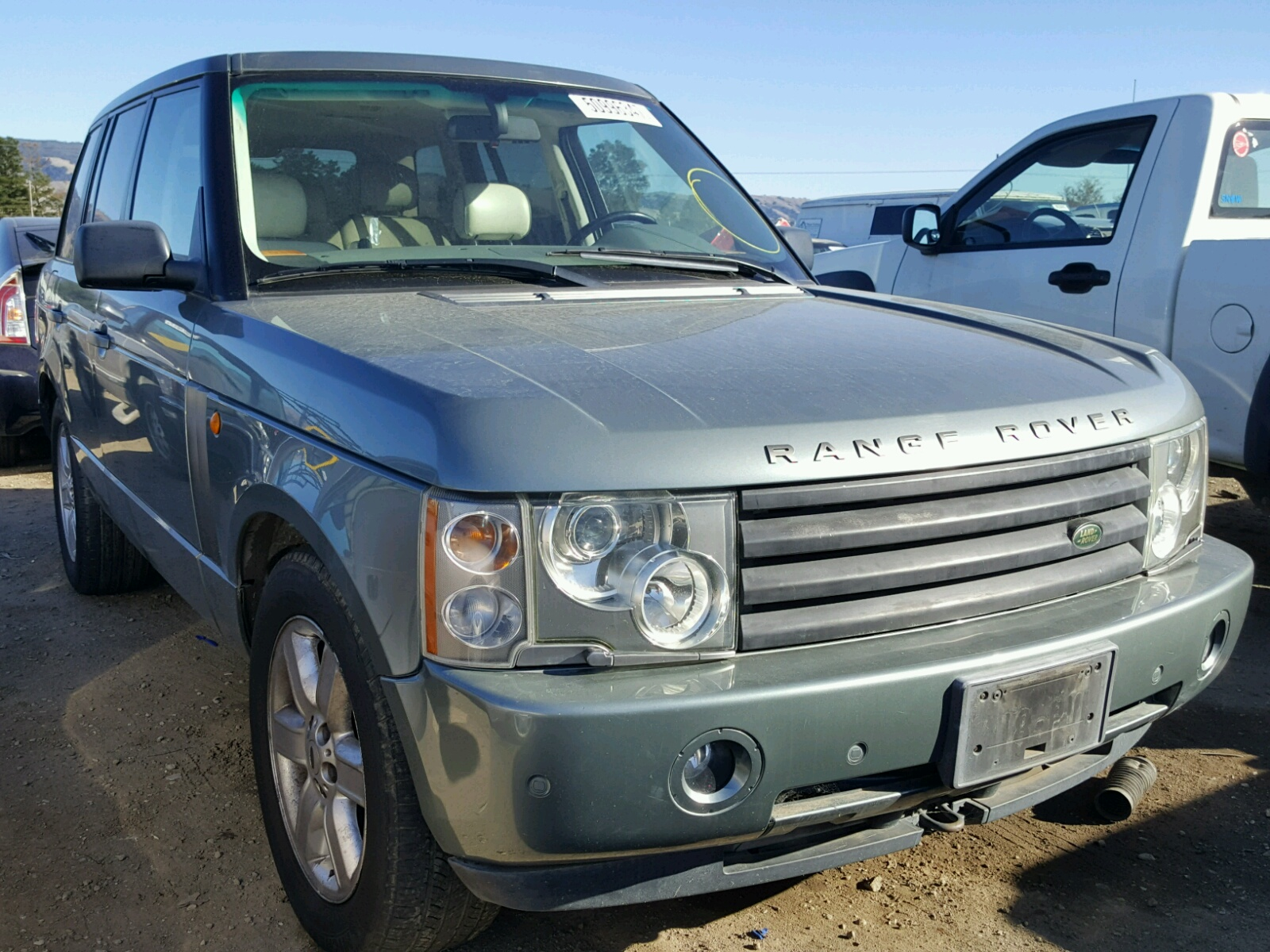 2003 Land Rover Range Rover for sale at Copart San Martin CA Lot