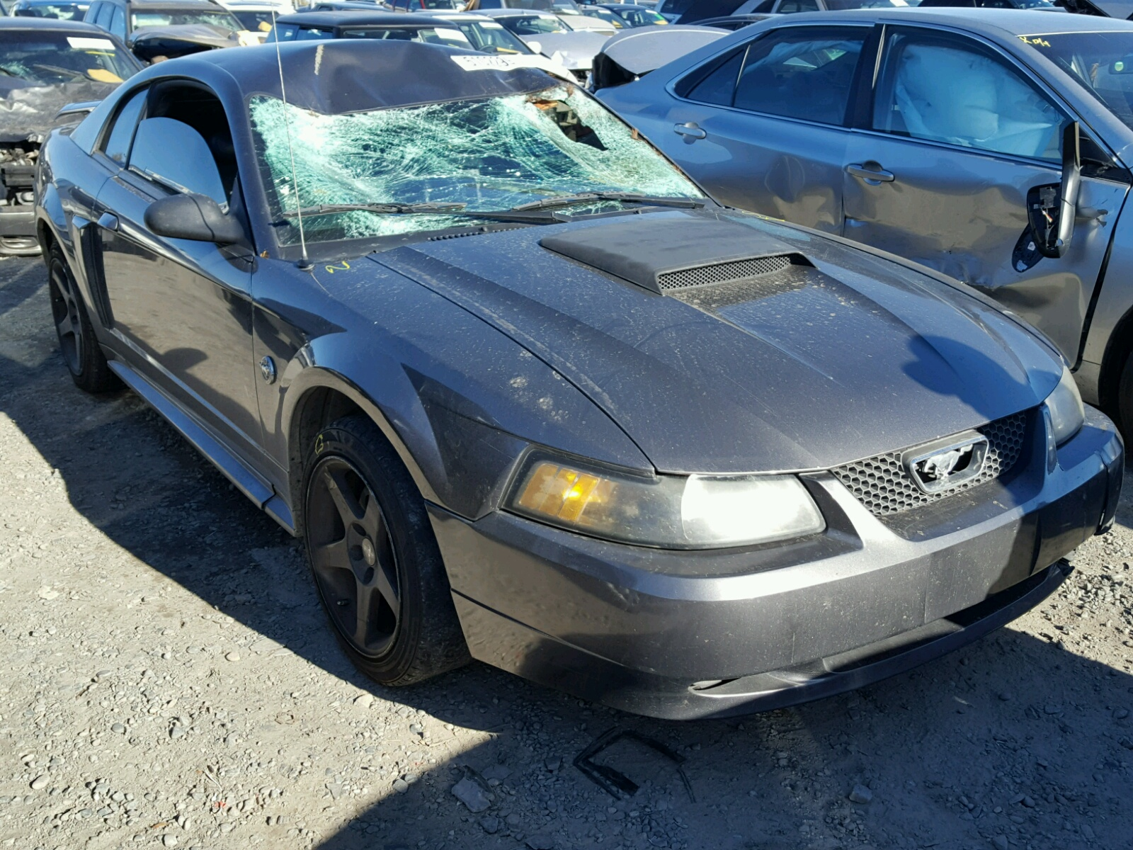 1fafp42x24f129017 2004 ford mustang gt 4 6l left view