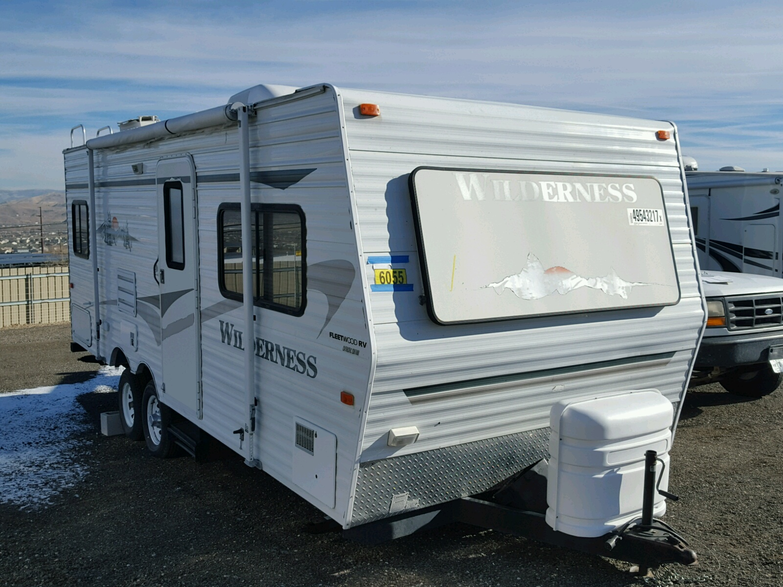 2006 Wildcat Travel Trailer For Sale At Copart Elgin  Il