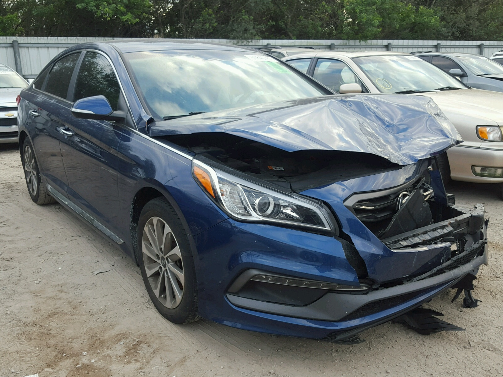 online auctions salvage auto se sc sonata lot en in view copart of carfinder title greer sale on cert red right hyundai