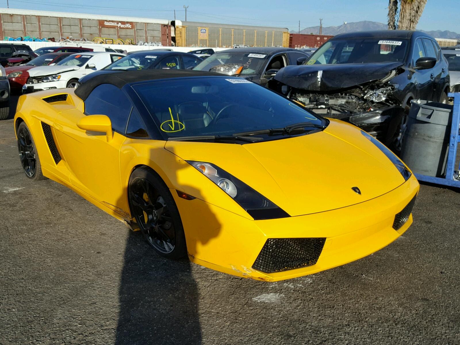 2006 Lamborghini Gallardo S For Sale At Copart Van Nuys