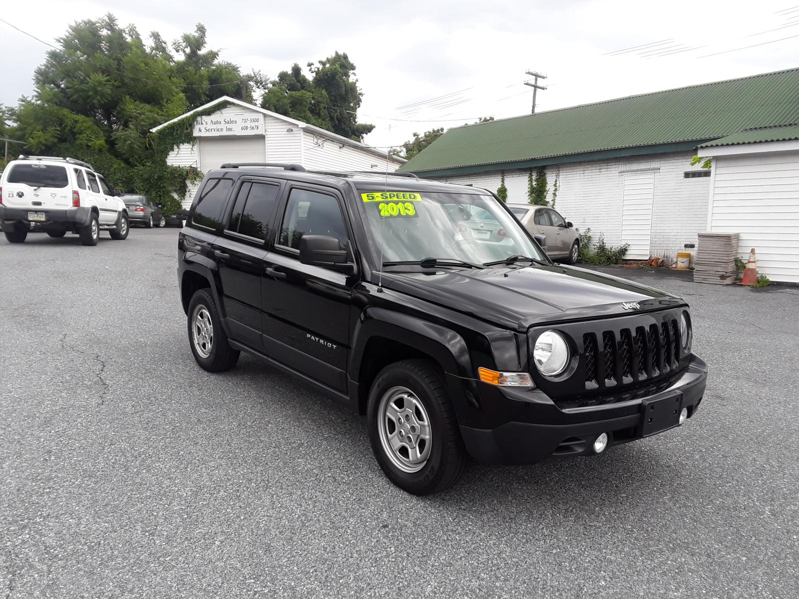 2013 Jeep Patriot Sp 2.0L Left View