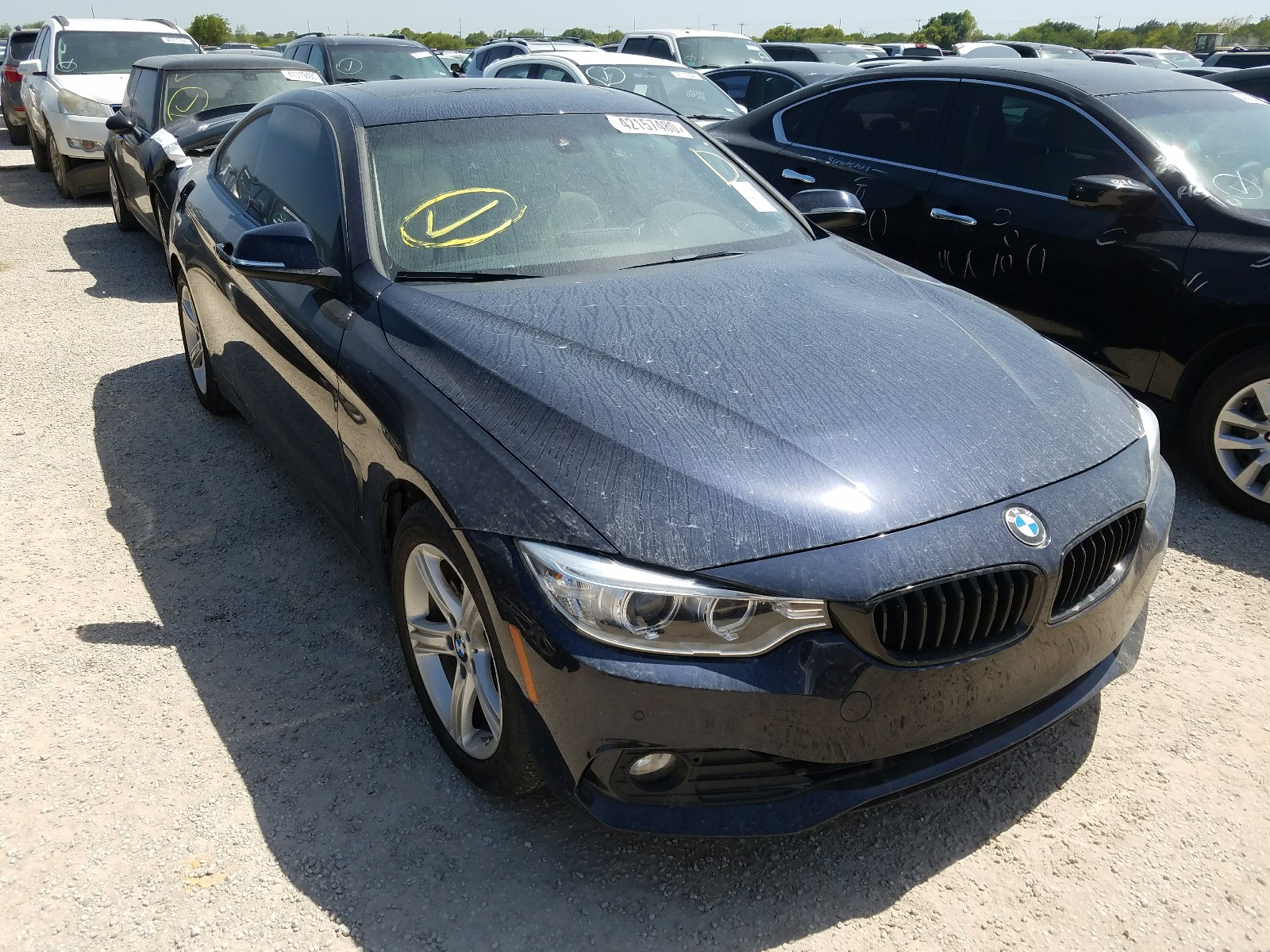 2015 bmw 428 i for sale at copart san antonio tx lot 42157480 salvagereseller com salvagereseller com