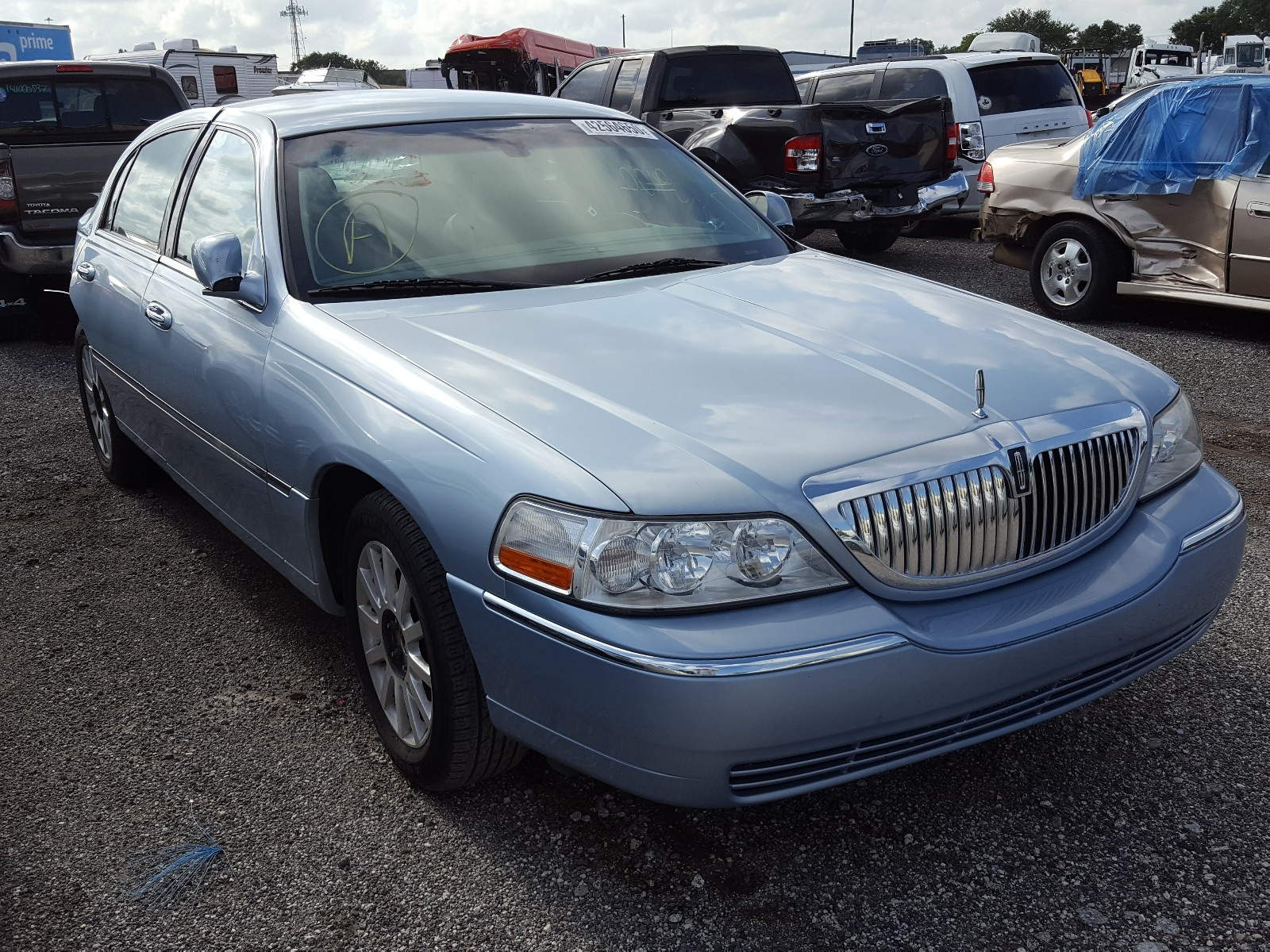 2007 Lincoln Town Car S For Sale At Copart Orlando Fl Lot 42564650 Salvagereseller Com