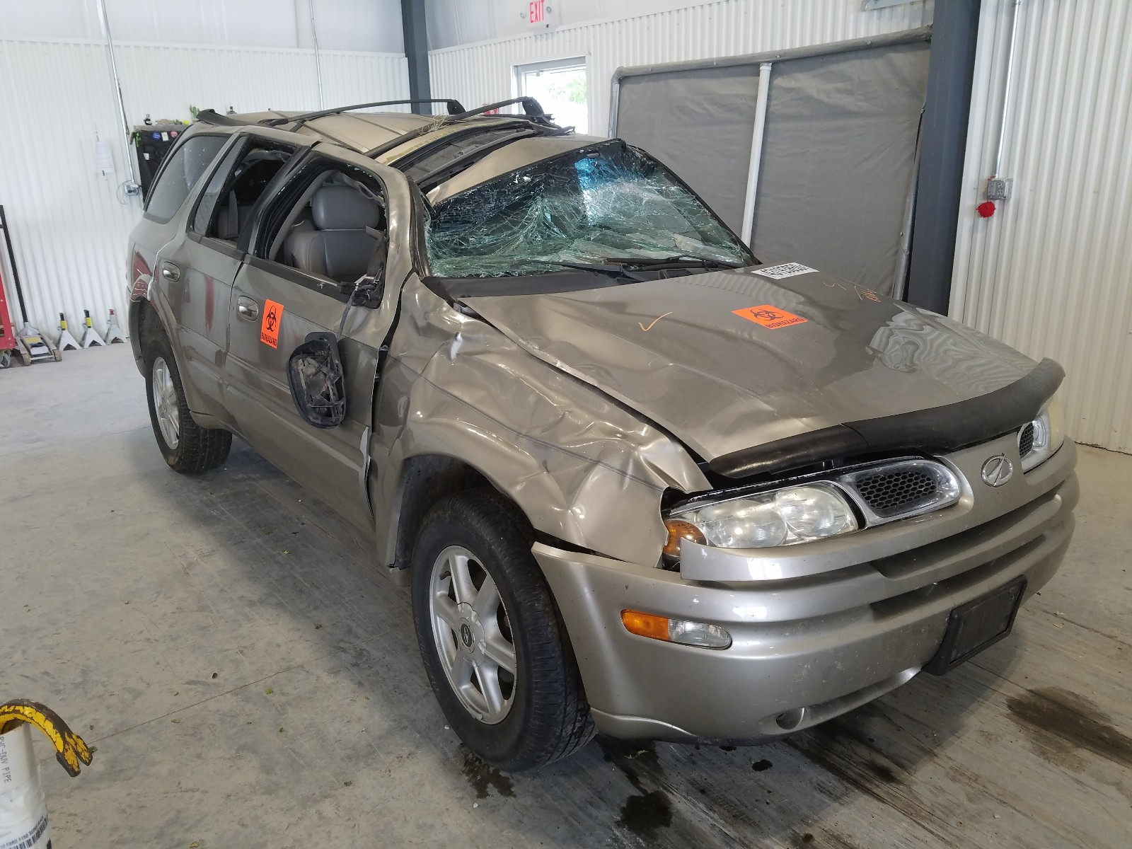 2003 oldsmobile bravada for sale at copart greenwood ne lot 43193850 salvagereseller com salvagereseller com