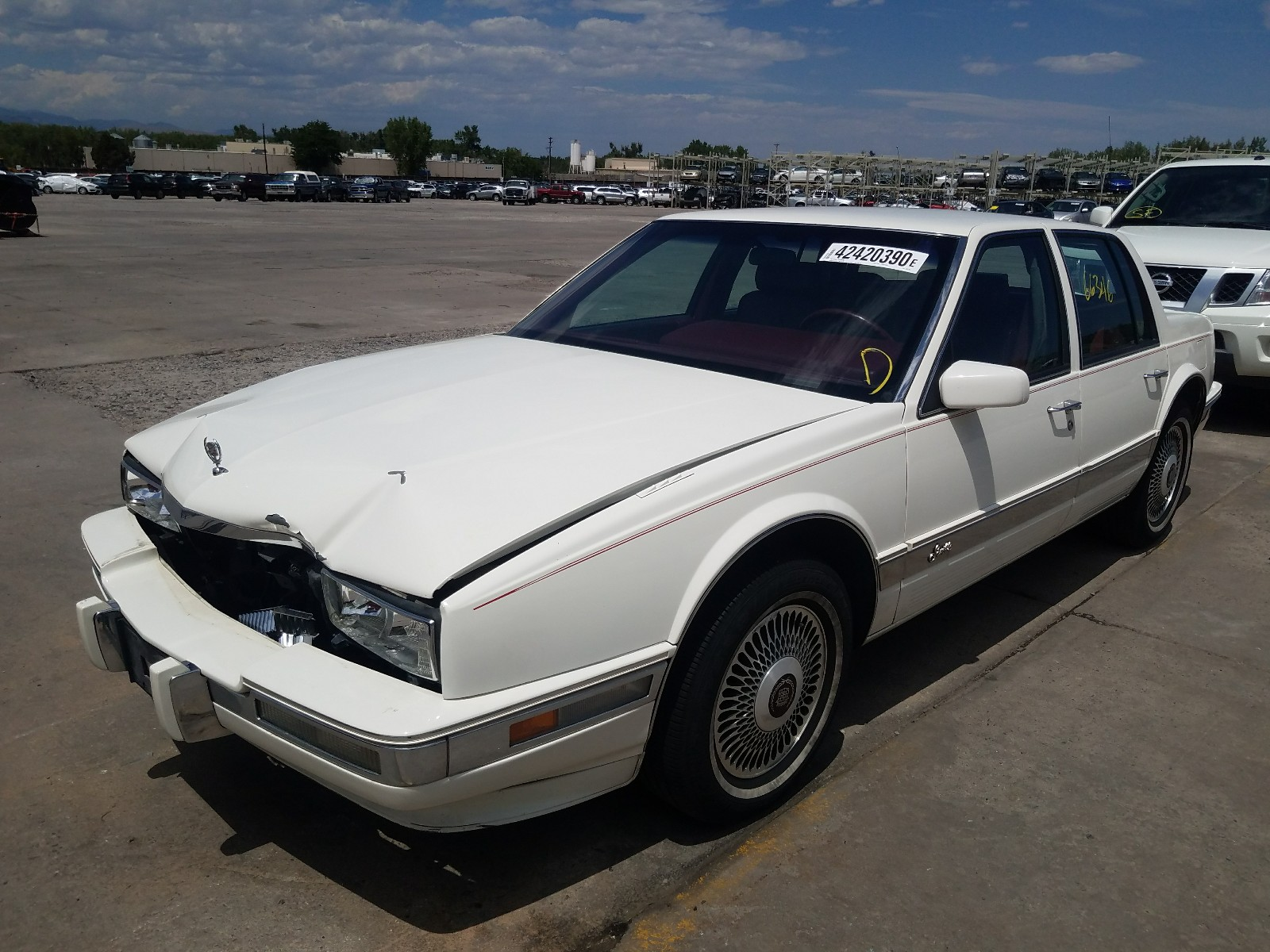 1991 cadillac seville for sale at copart littleton co lot 42420390 salvagereseller com salvagereseller com
