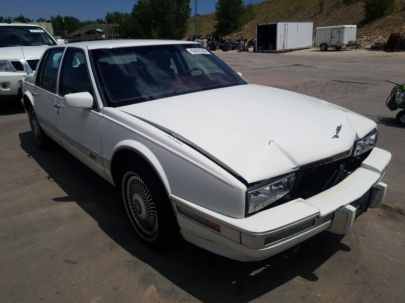 1991 cadillac seville for sale at copart littleton co lot 42420390 salvagereseller com 1991 cadillac seville for sale at