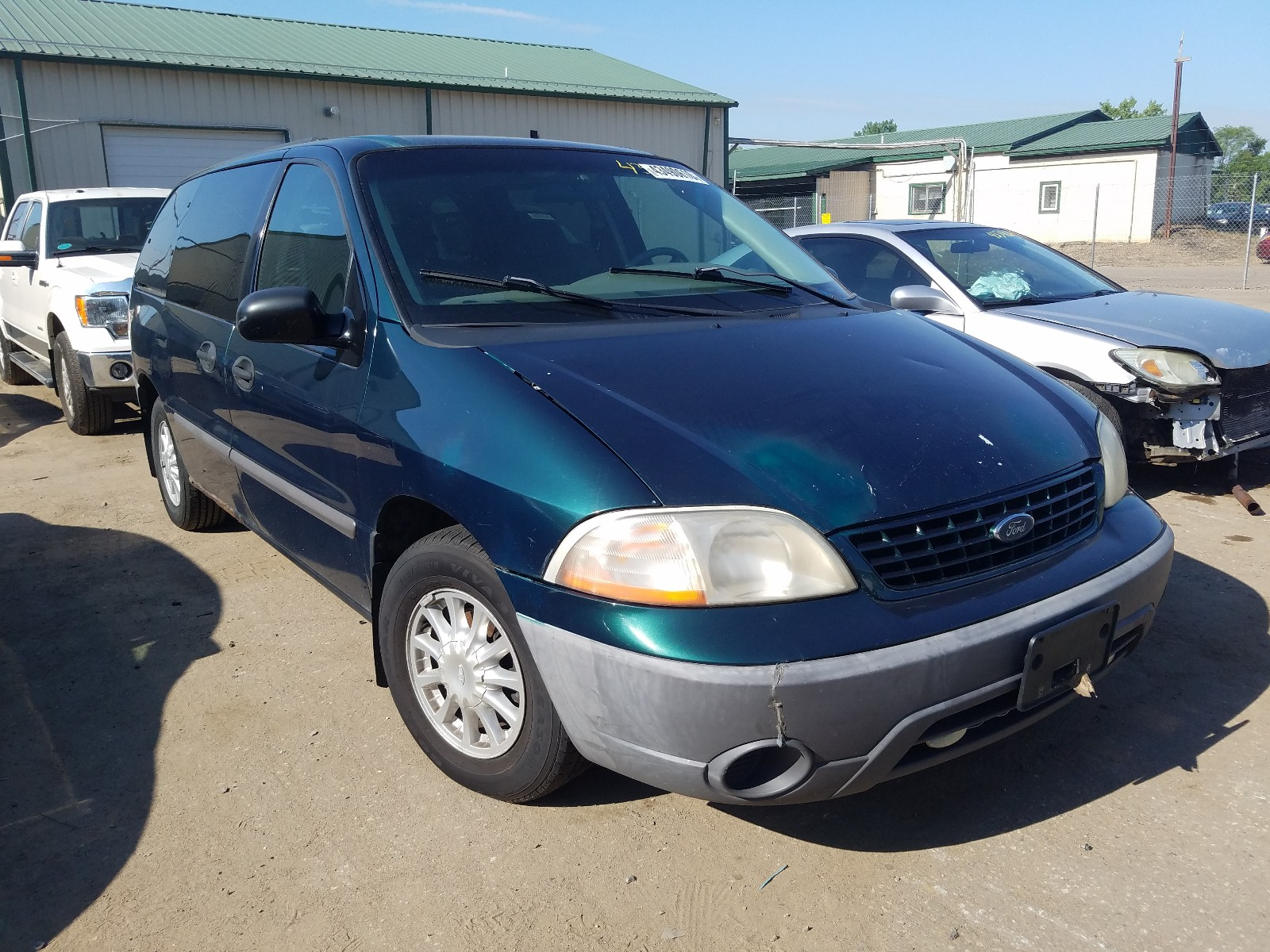 2001 ford windstar l for sale at copart ham lake mn lot 43490610 salvagereseller com salvagereseller com