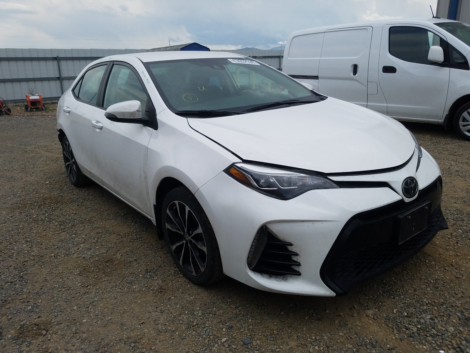 2019 toyota corolla l for sale at copart helena mt lot 43652530 salvagereseller com salvagereseller com