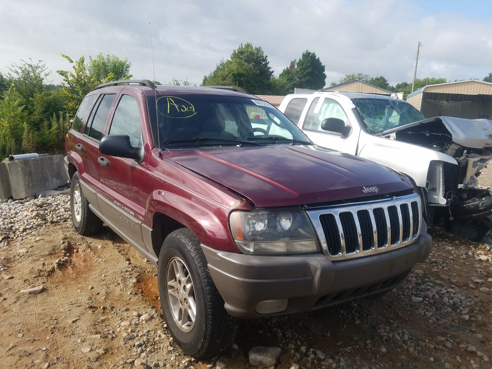 2003 jeep grand cherokee for sale at copart china grove nc lot 44757960 salvagereseller com salvagereseller com