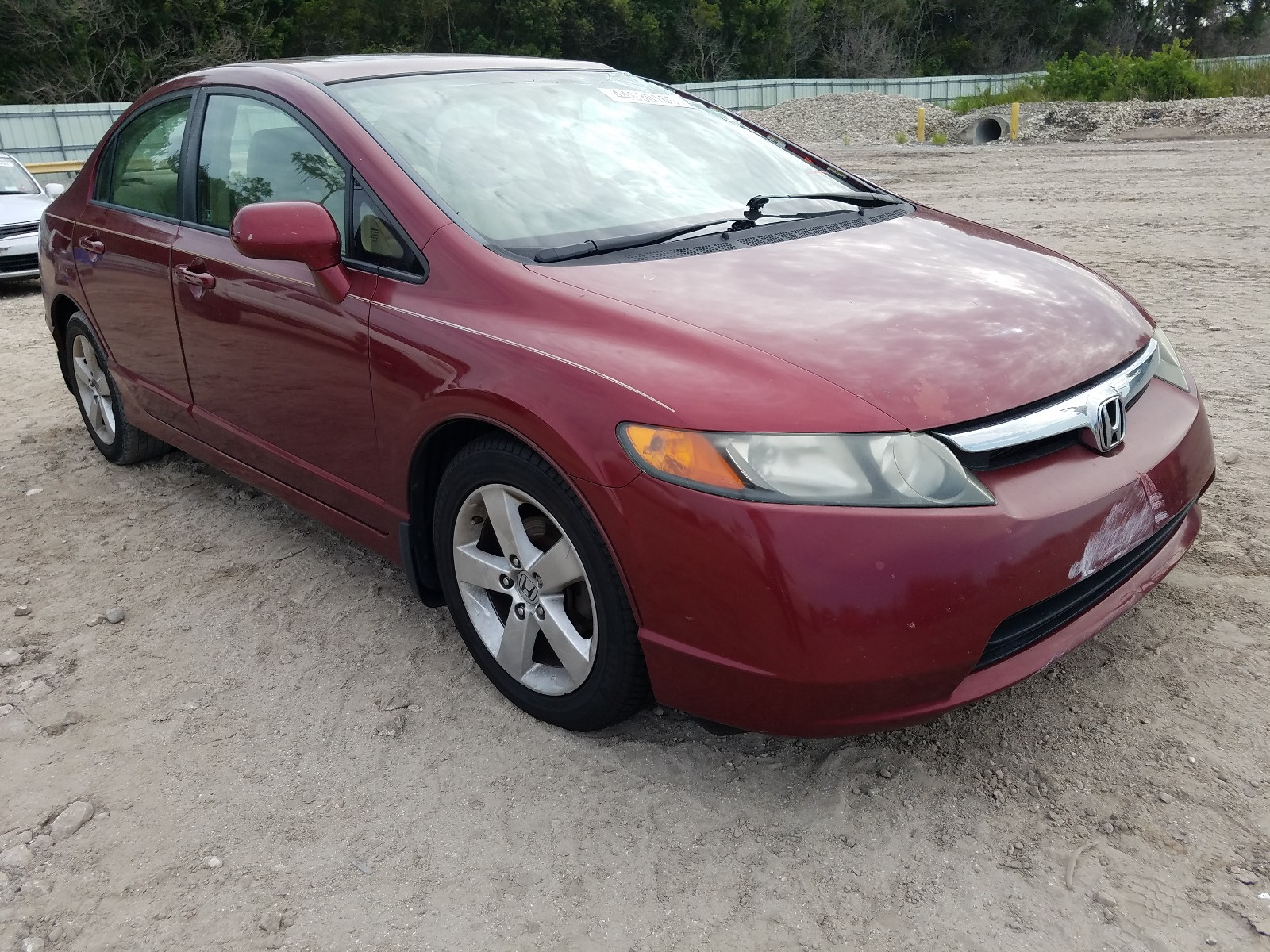 2008 Honda Civic Ex For Sale At Copart Riverview Fl Lot 44630160 Salvagereseller Com