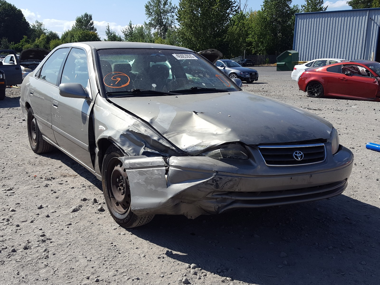 2000 toyota camry ce for sale at copart portland or lot 45053920 salvagereseller com salvagereseller com