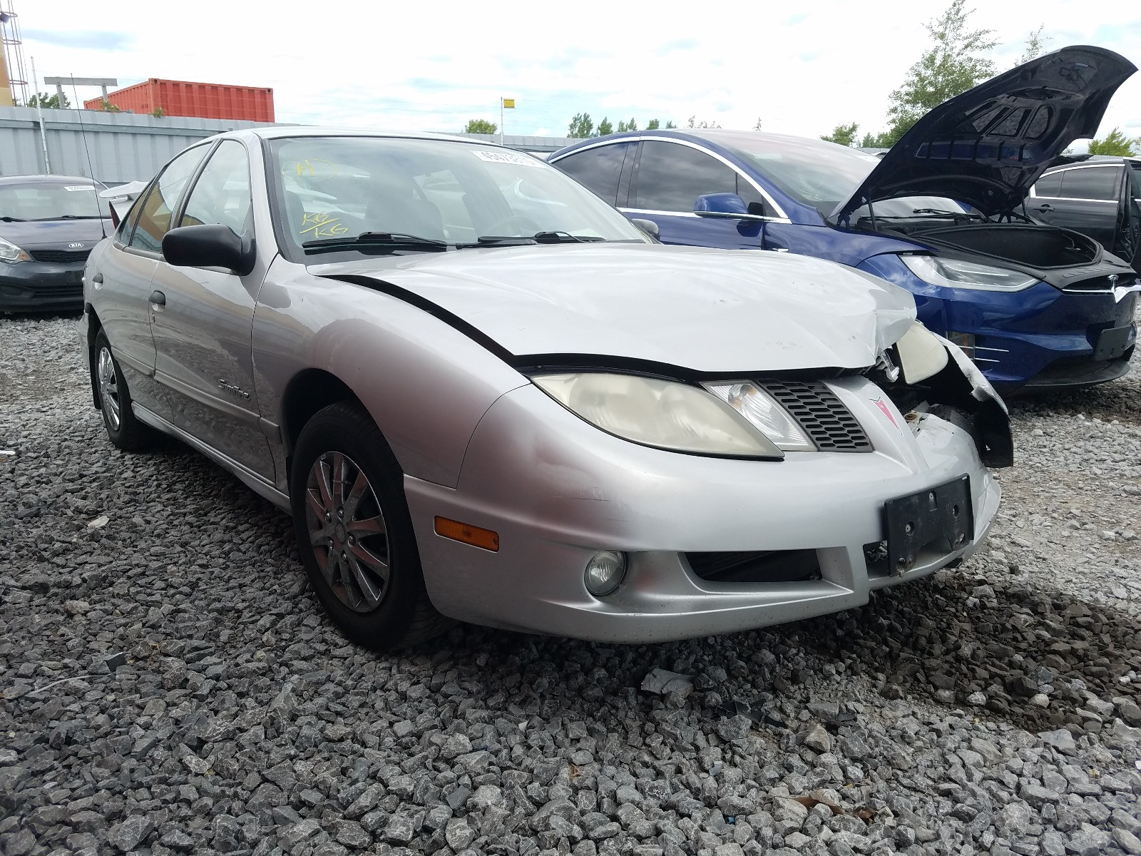 2003 pontiac sunfire sl for sale at copart courtice on lot 45473810 salvagereseller com salvagereseller com