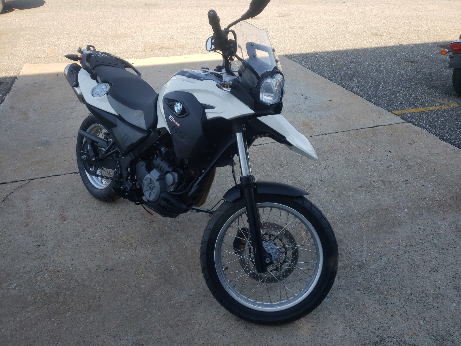 2016 bmw g650 gs for sale at copart oklahoma city ok lot 47099140 salvagereseller com salvagereseller com