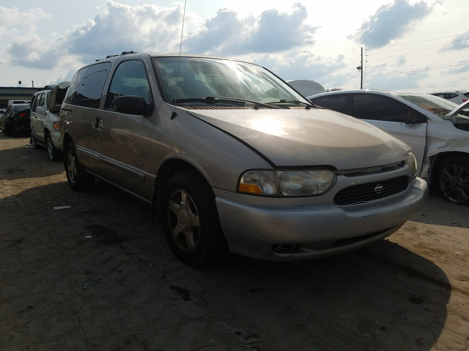 2000 nissan quest se for sale at copart lebanon tn lot 48885690 salvagereseller com salvagereseller com