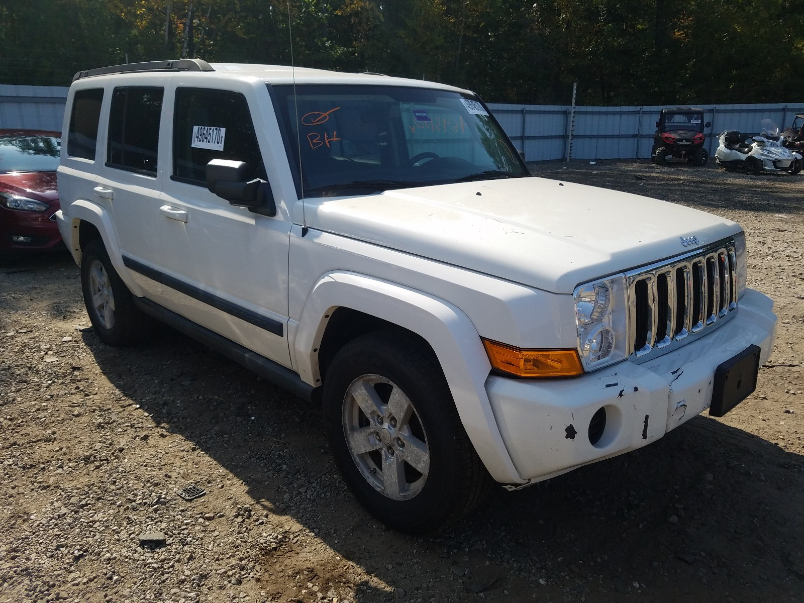 2008 Jeep Commander For Sale At Copart Lyman Me Lot 49645170 Salvagereseller Com