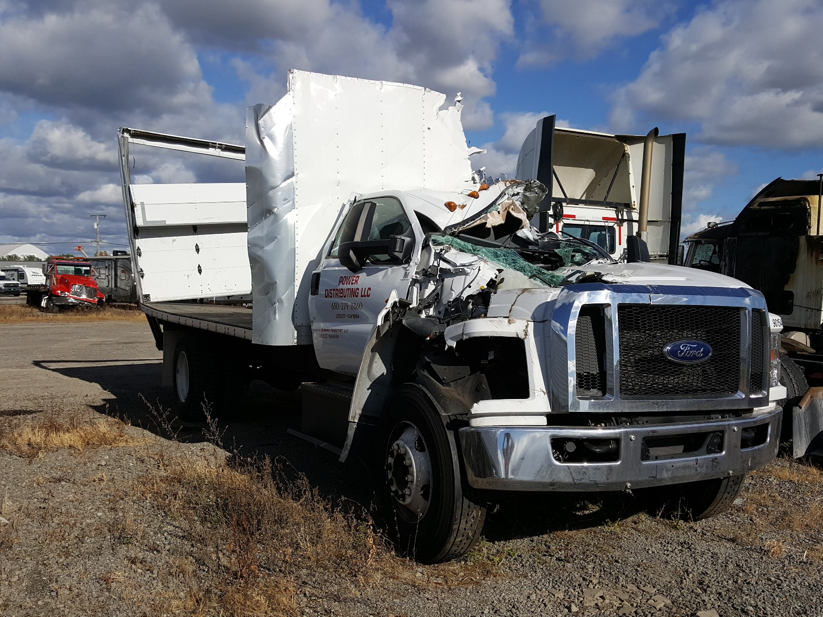 2019 Ford F650 Super For Sale At Copart Hammond In Lot 49760060 Salvagereseller Com