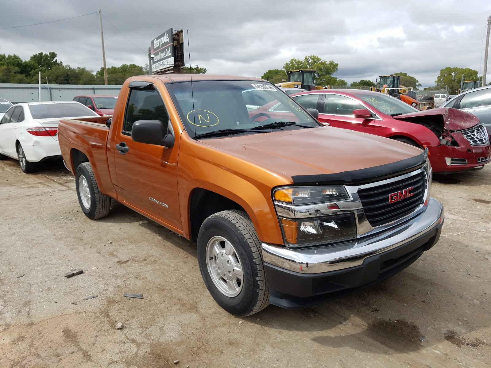 2005 gmc canyon for sale at copart wichita ks lot 50288610 salvagereseller com salvagereseller com