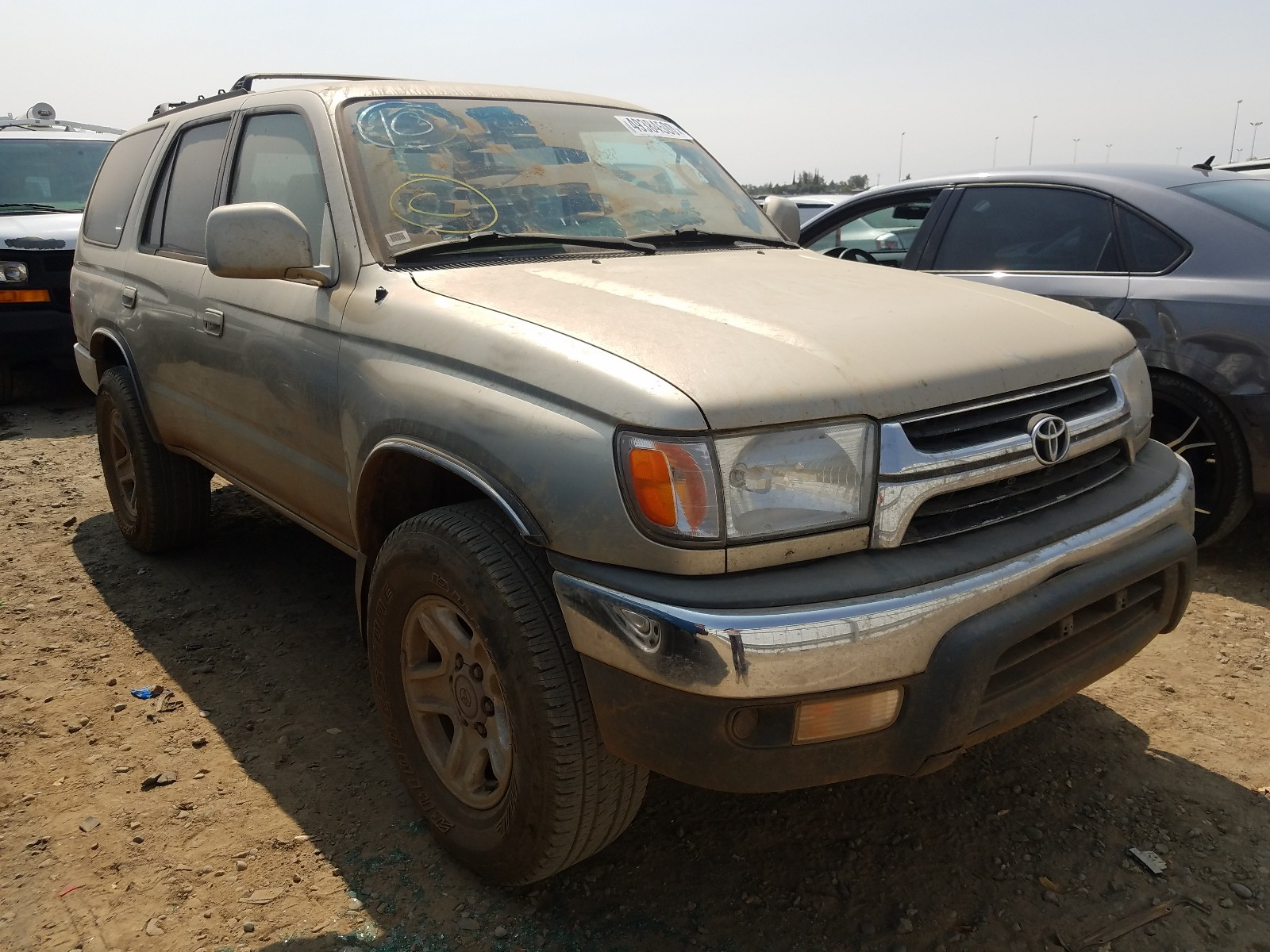2001 Toyota 4runner Sr For Sale At Copart Sacramento Ca Lot 49384500 Salvagereseller Com
