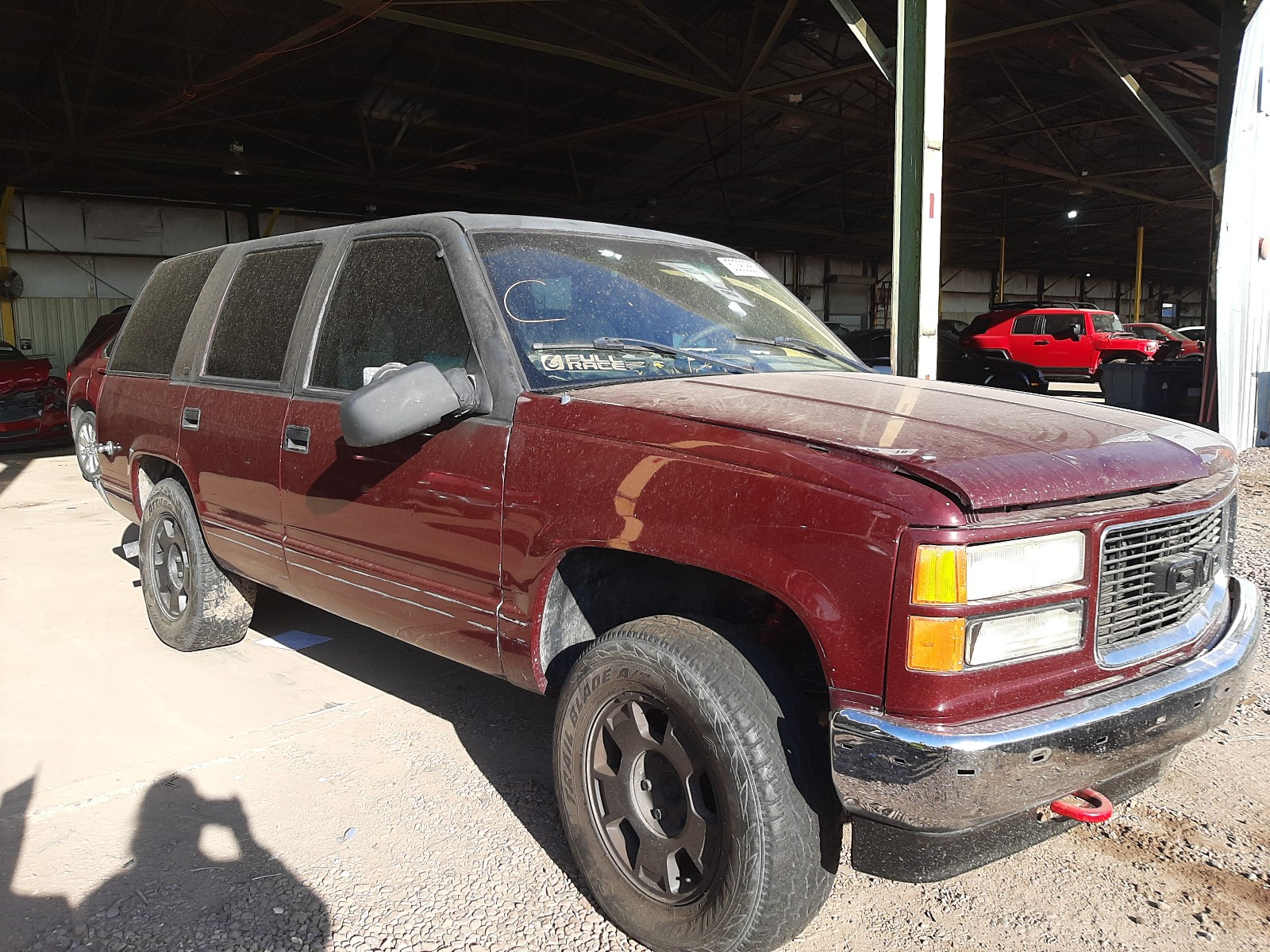 1998 gmc yukon for sale at copart phoenix az lot 50382860 salvagereseller com salvagereseller com