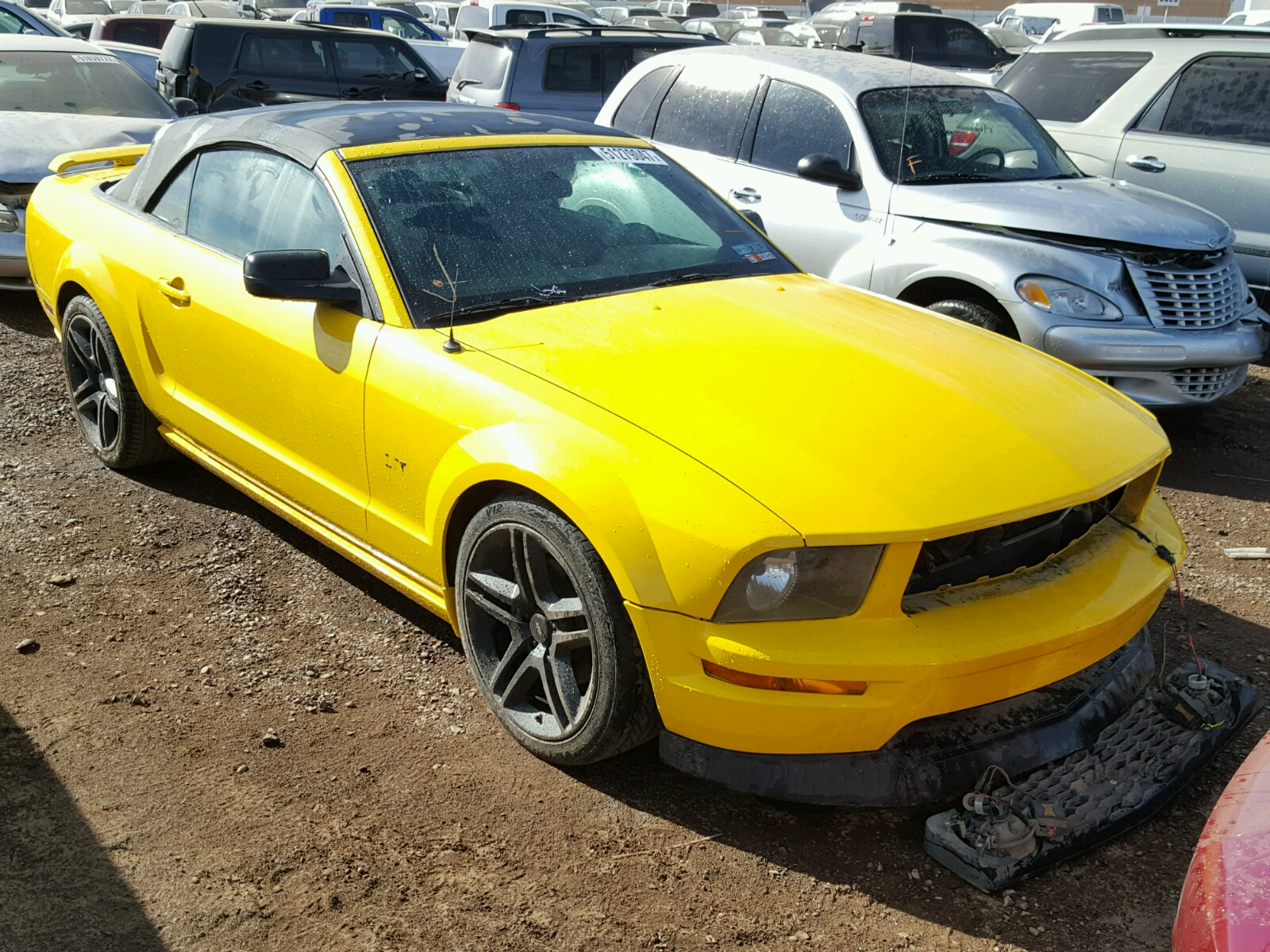 2006 Ford Mustang Gt For Sale At Copart Phoenix Az Lot 51279047