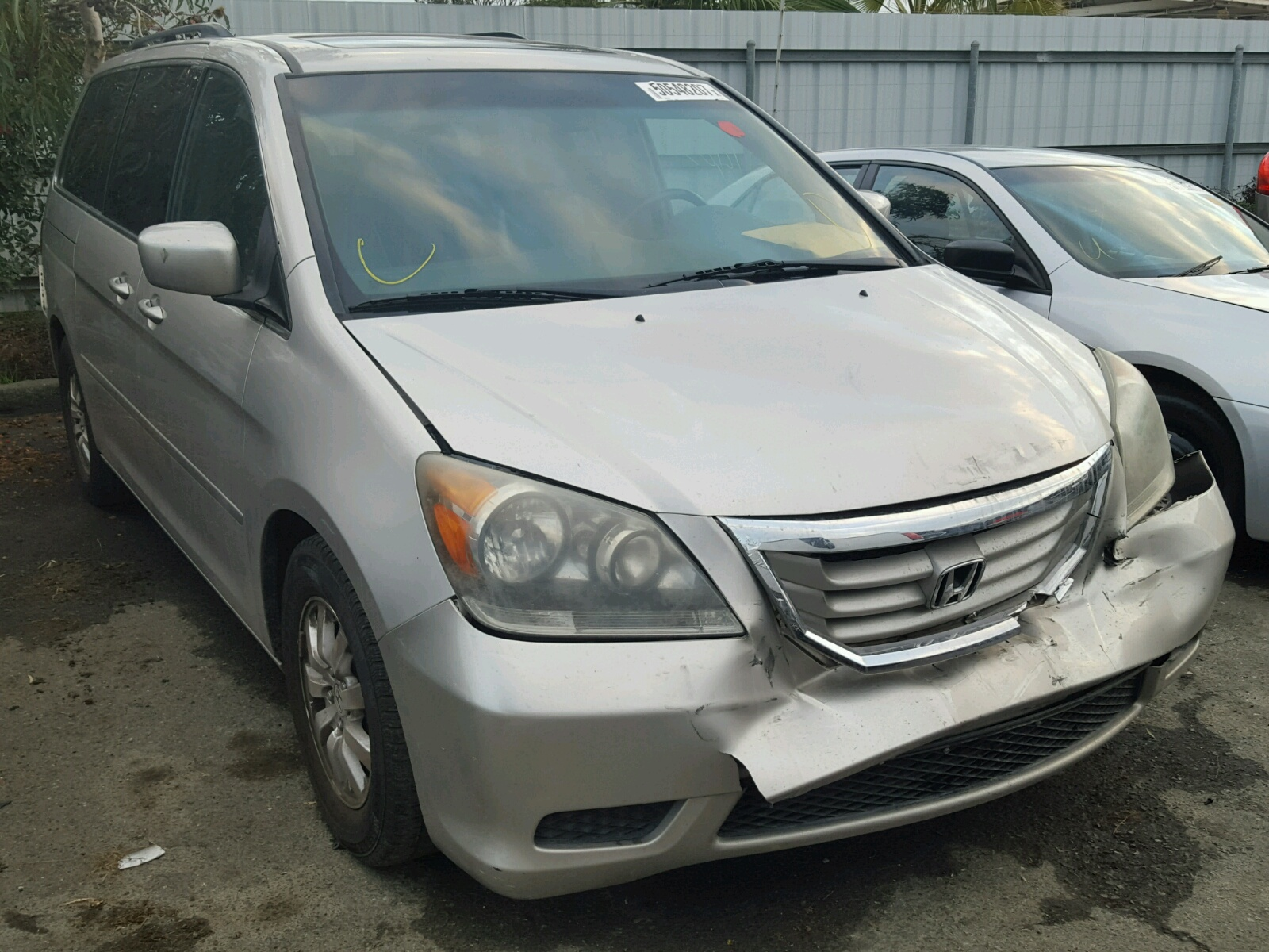 Auto Auction Ended On Vin 5fnrl38228b036128 2008 Honda