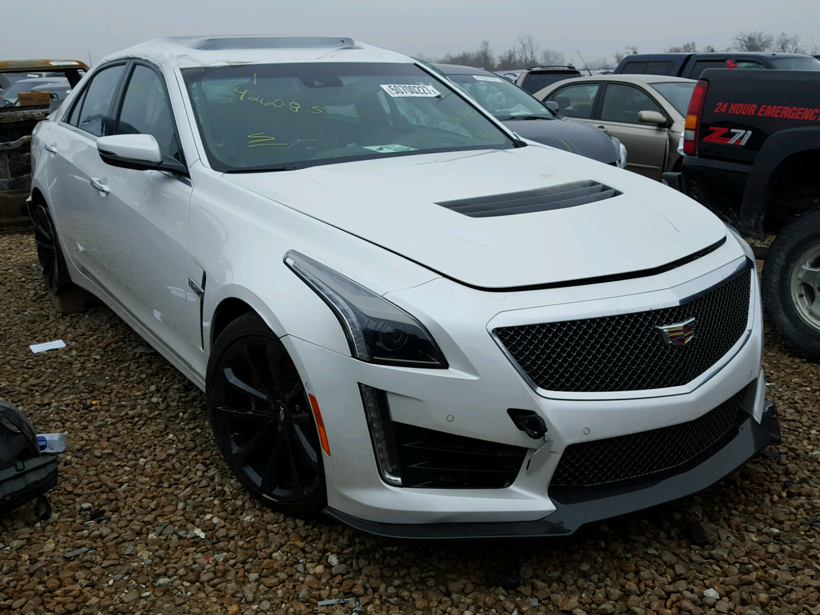 auto auction ended on vin 1g6a15s63h0124410 2017 cadillac cts v in tx austin. Black Bedroom Furniture Sets. Home Design Ideas
