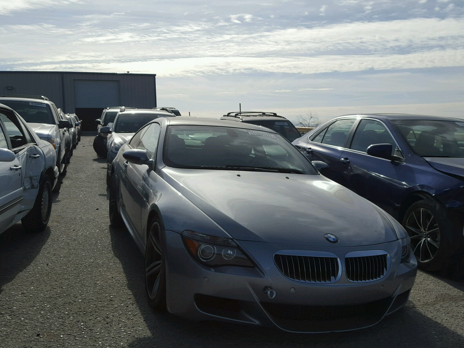 Auto Auction Ended On VIN WBSEHB BMW M In NM - 2006 bmw m6 sale