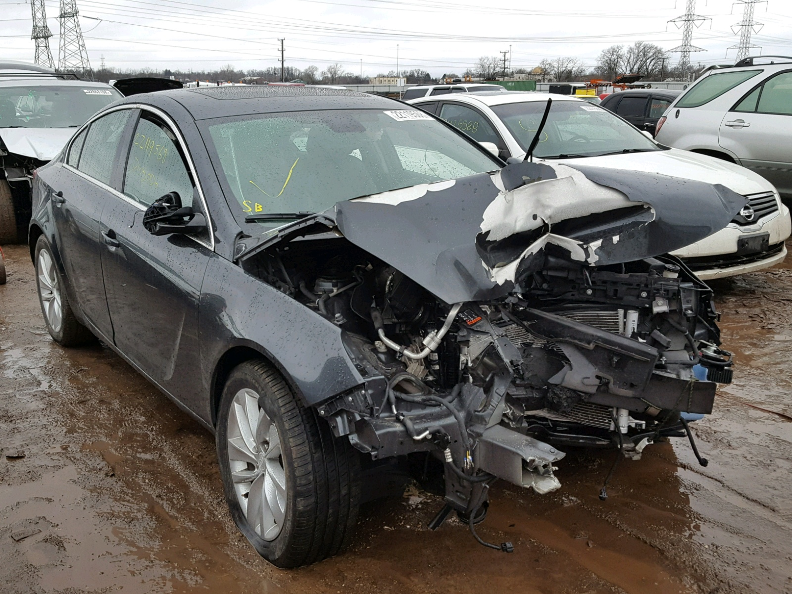 Buick Regal: Collision Damage Repair