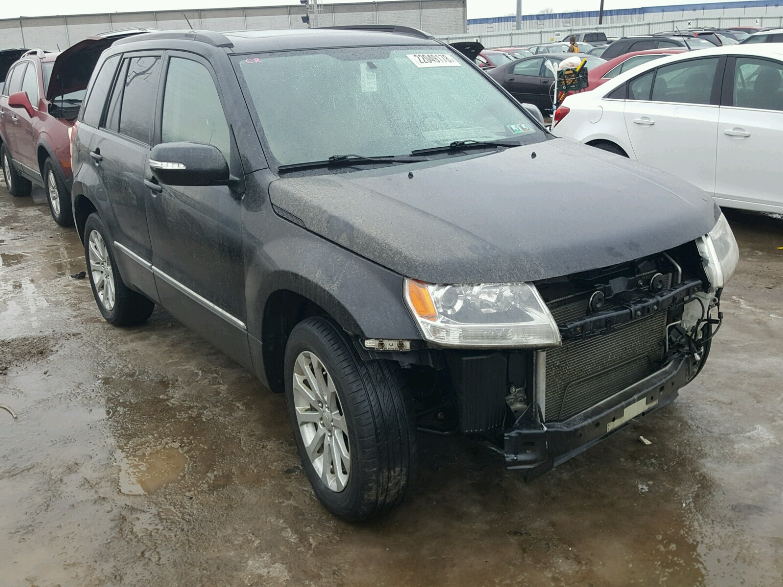 Auto Auction Ended on VIN: JS3TD0D7XD4100051 2013 SUZUKI GRAND ...