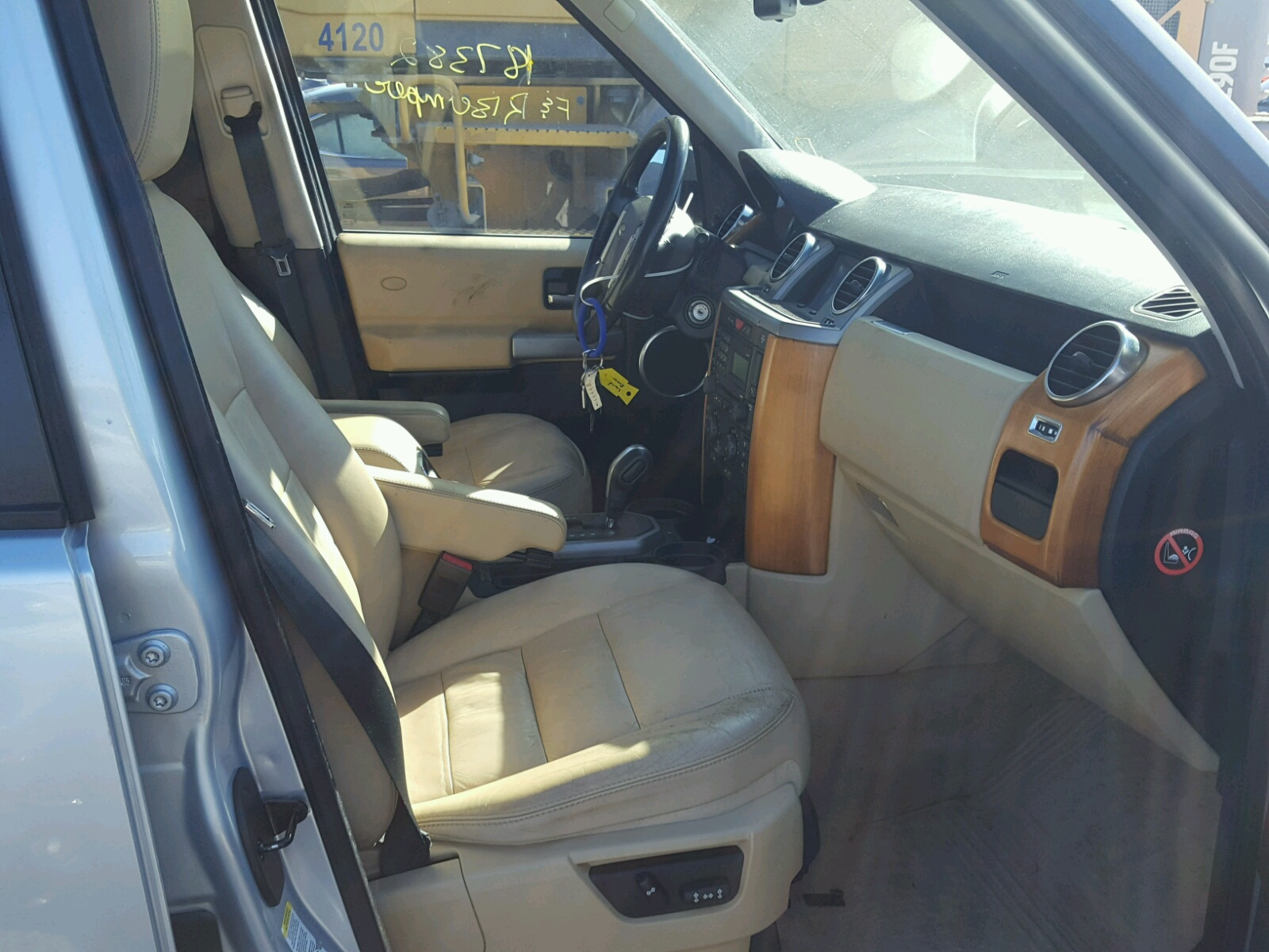 title auto landrover for sale salvage black auctions online on land ia rover in des cert moines lot hse of copart up view carfinder en close