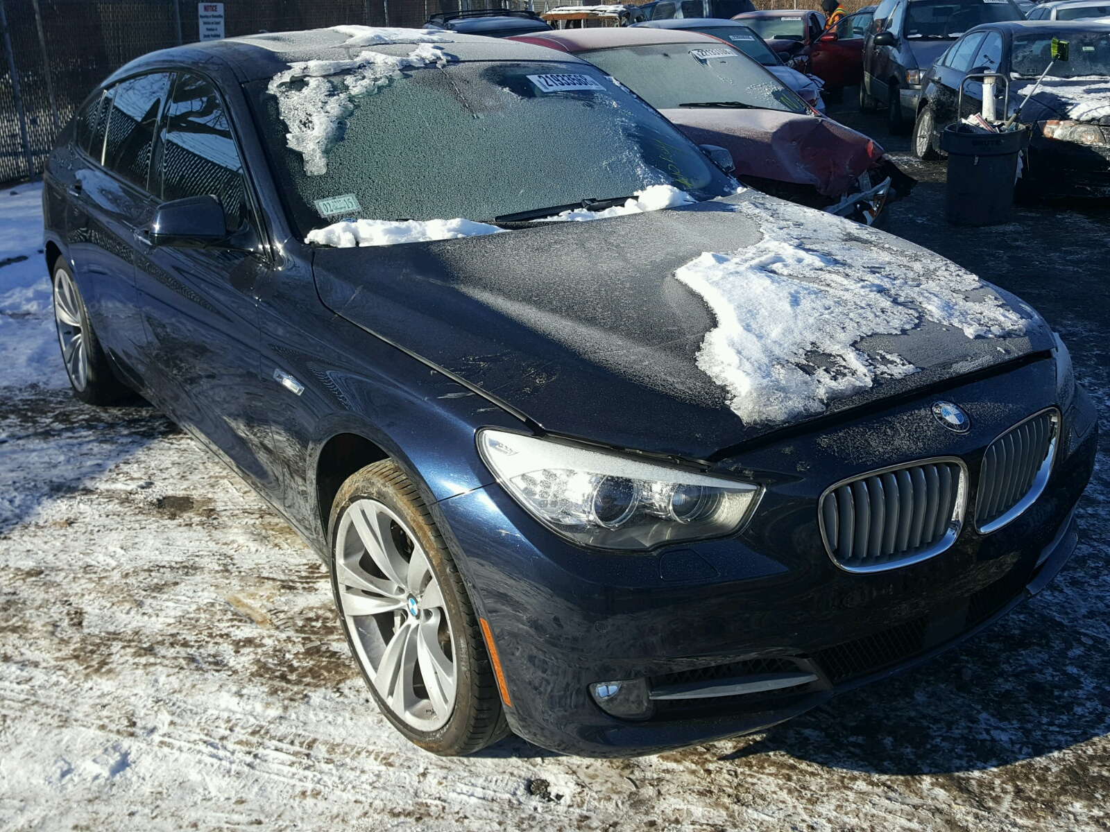 Auto Auction Ended On VIN WBASNCAC BMW GT In IL - 550 gt bmw