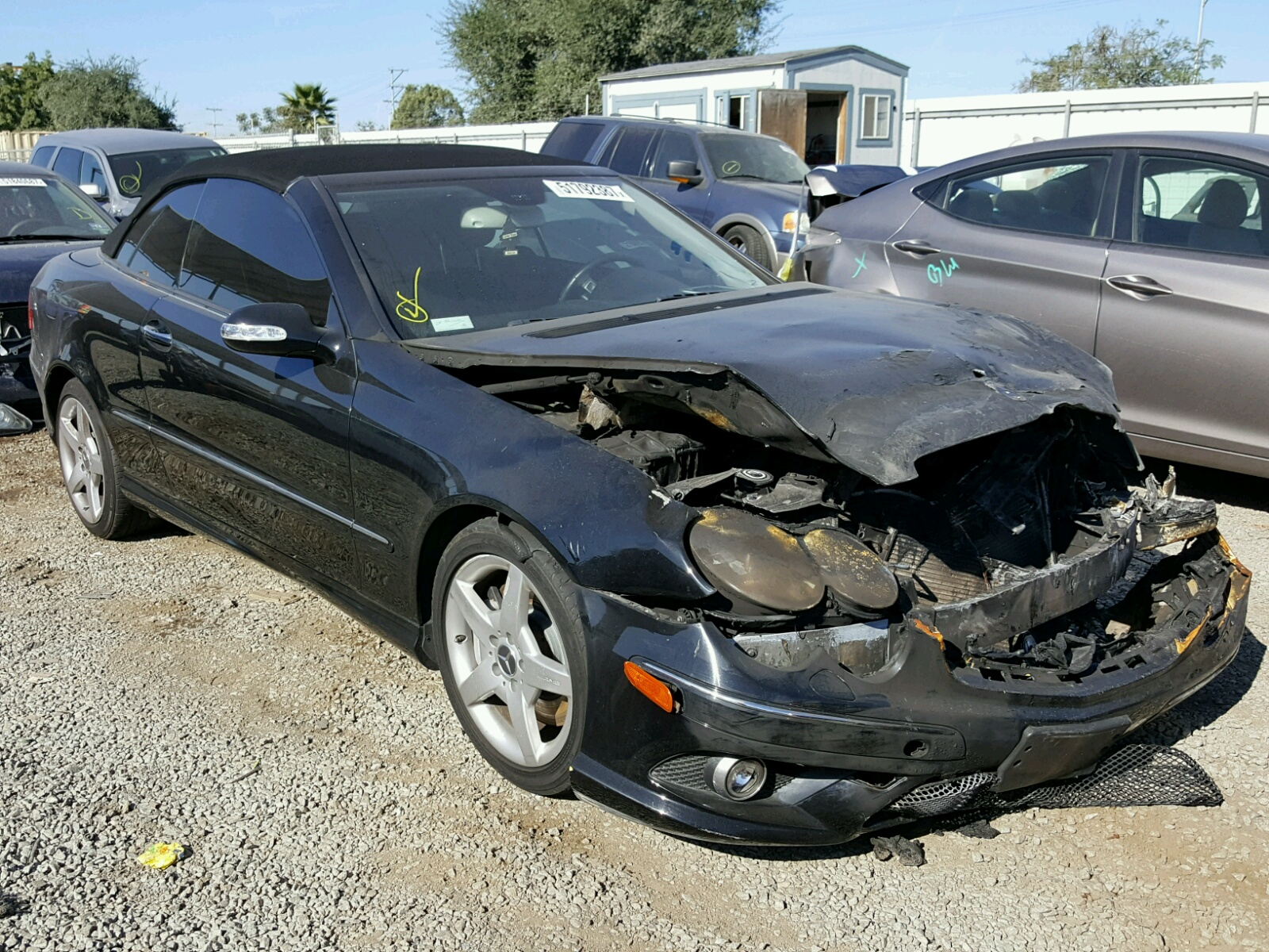 2006 mercedes benz clk 500 burn engine damage rh autoauctions io 2005 mercedes clk 500 owners manual mercedes benz cls 500 owners manual
