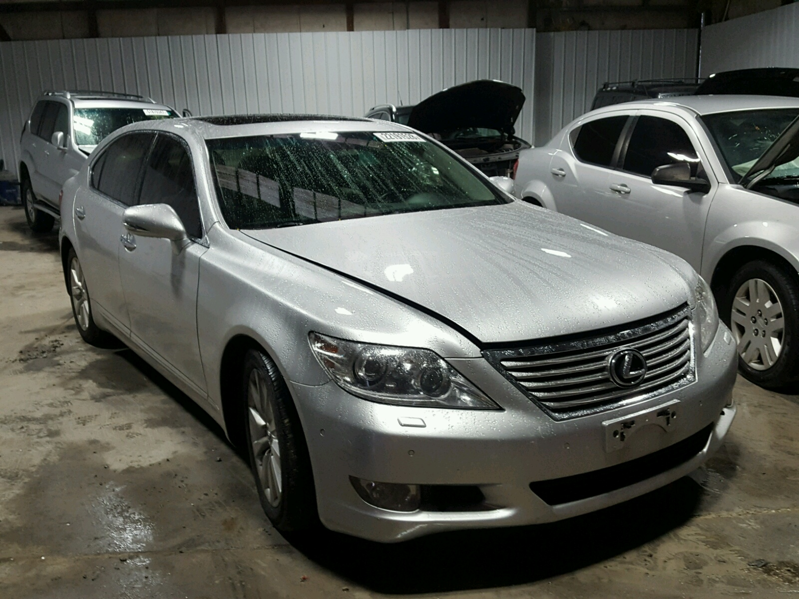 auto auction ended on vin jthcl5ef0a5008357 2010 lexus ls460 awd in pa pittsburgh north. Black Bedroom Furniture Sets. Home Design Ideas