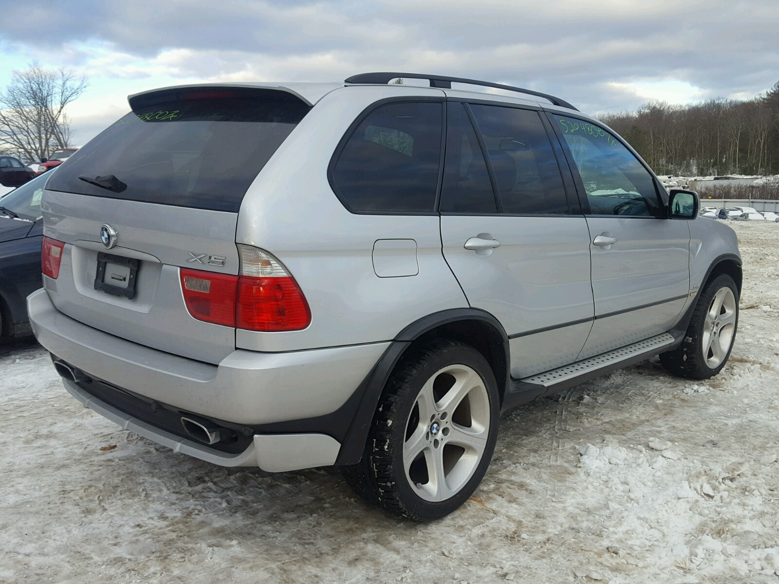2002 Bmw X5 4.6Is - Front End Damage - 5UXFB93572LN78368 (Sold)