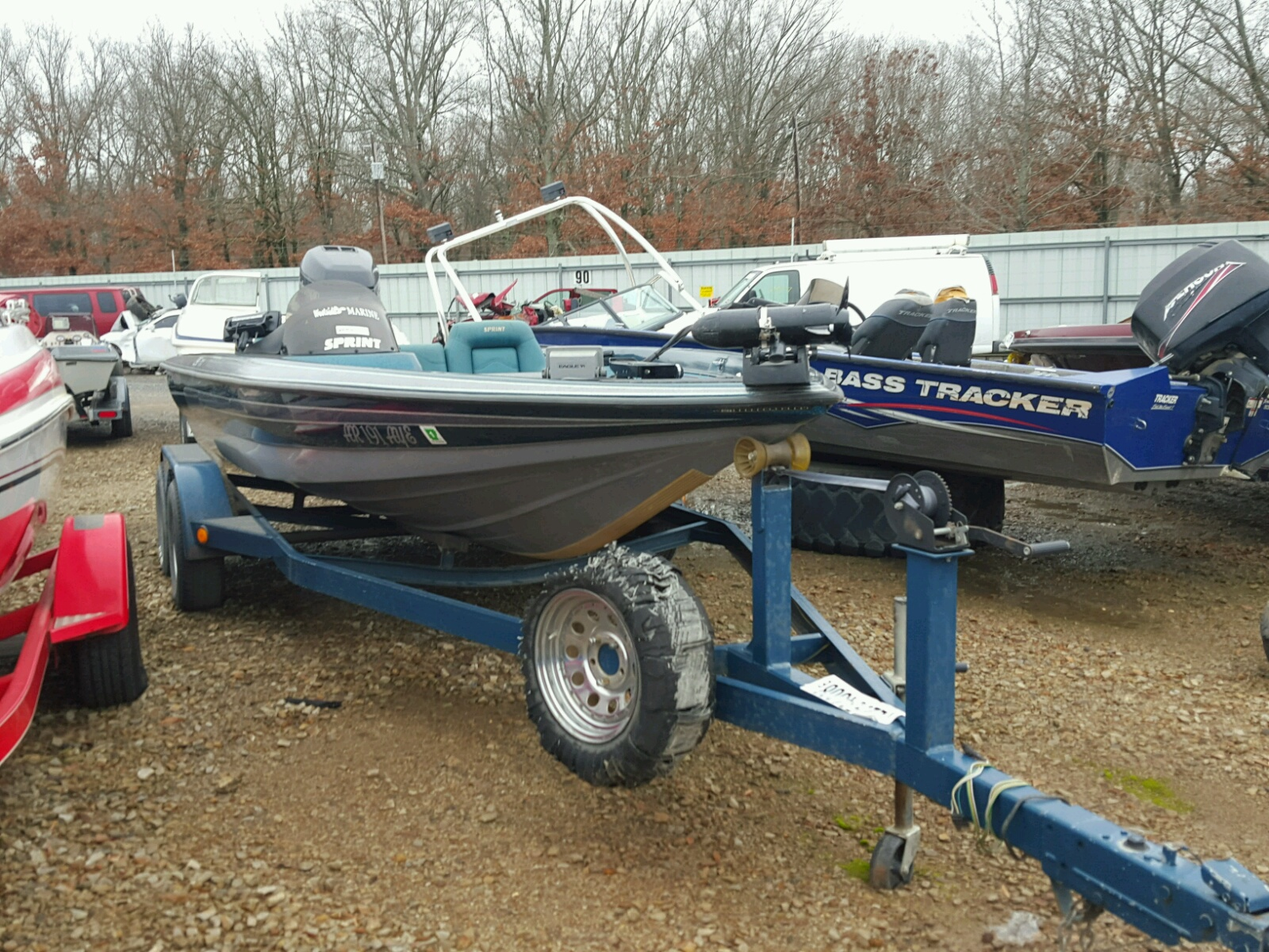 Salvage 1998 Other 296 for sale