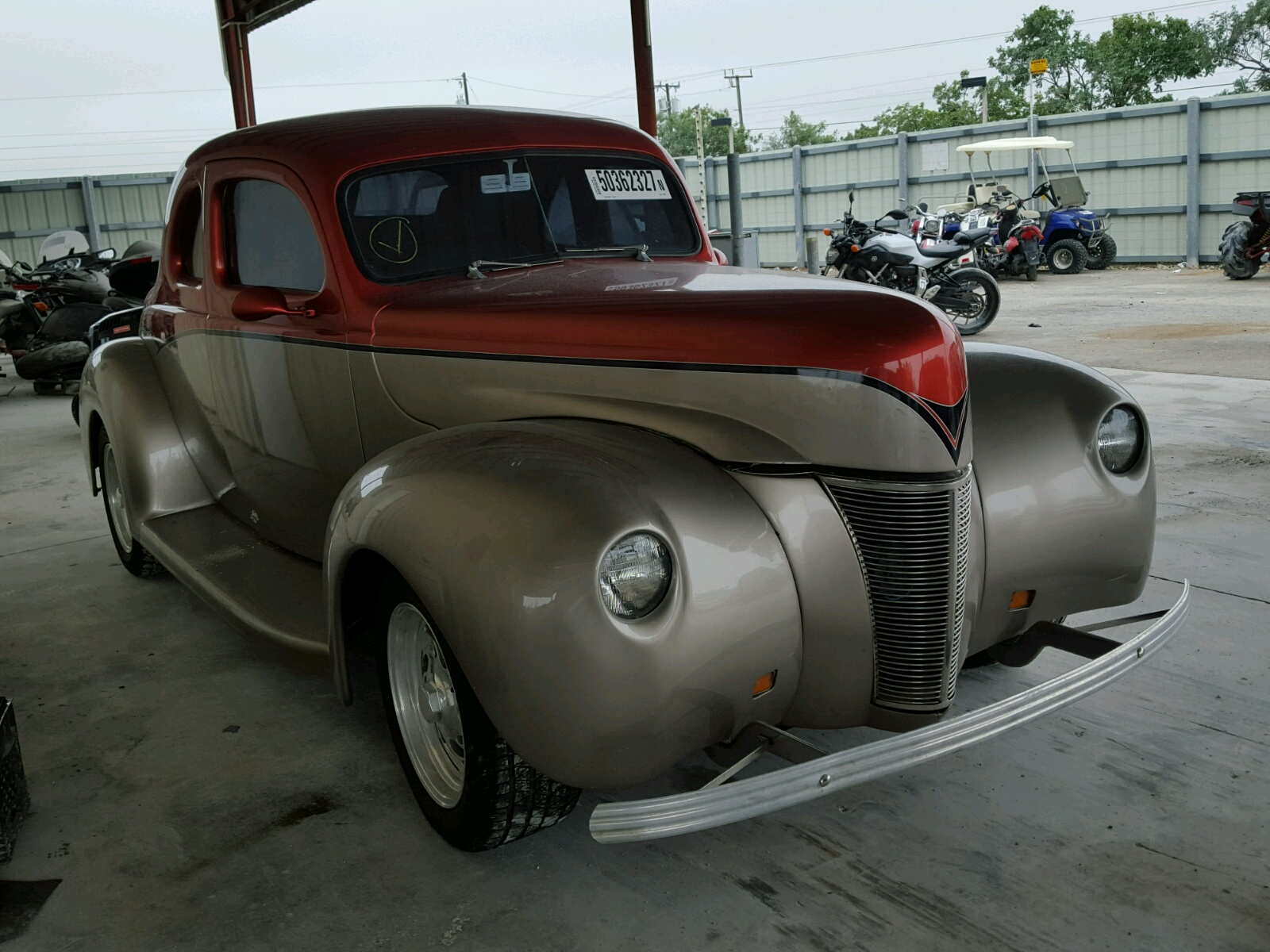 1940 Ford Street ROD for sale at Copart Homestead, FL Lot# 50362327
