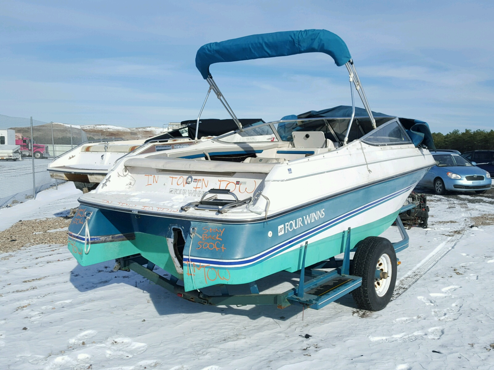 1994 Four Winds Boat for sale at Copart Brookhaven, NY Lot ...