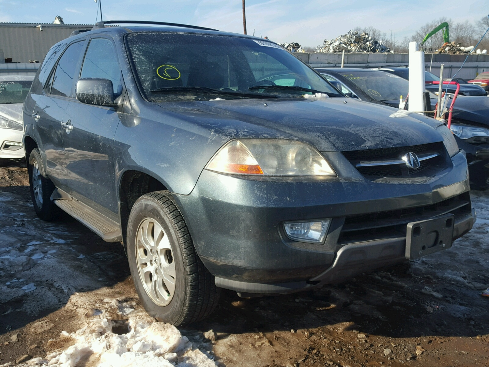 HNYDH CHARCOAL ACURA MDX TOURIN On Sale In NJ - Acura mdx 2003 for sale